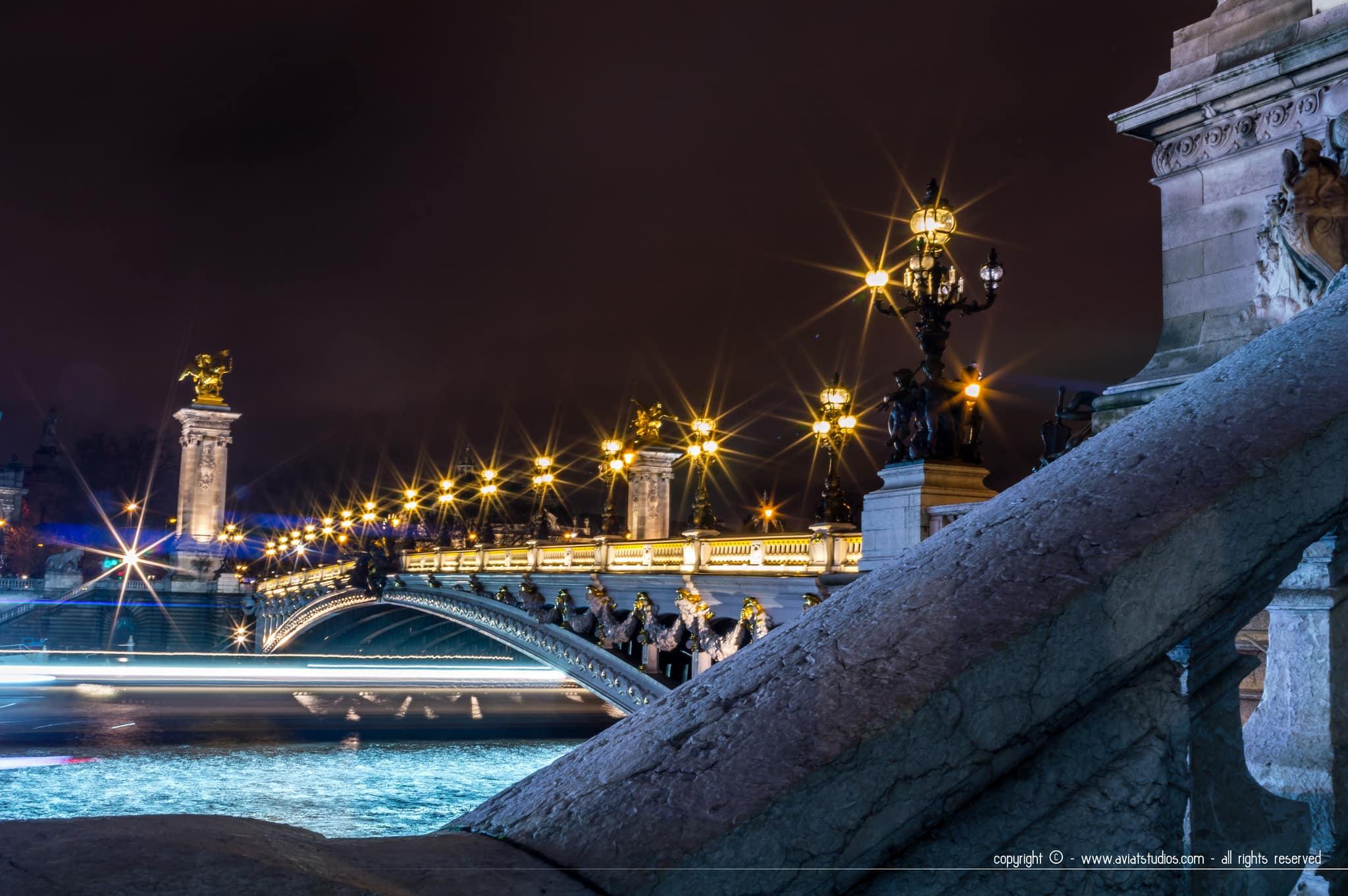 Un week-end à Paris - Balade nocturne sur les quais de Seine