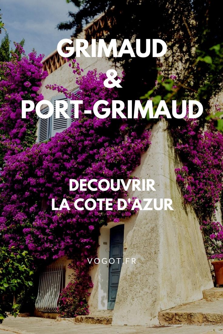 Vous allez passer une journée à Grimaud et Port-Grimaud ? Photographies, meilleurs spots et bons plans : Vogot vous fait découvrir la ville à travers les cinq sens.