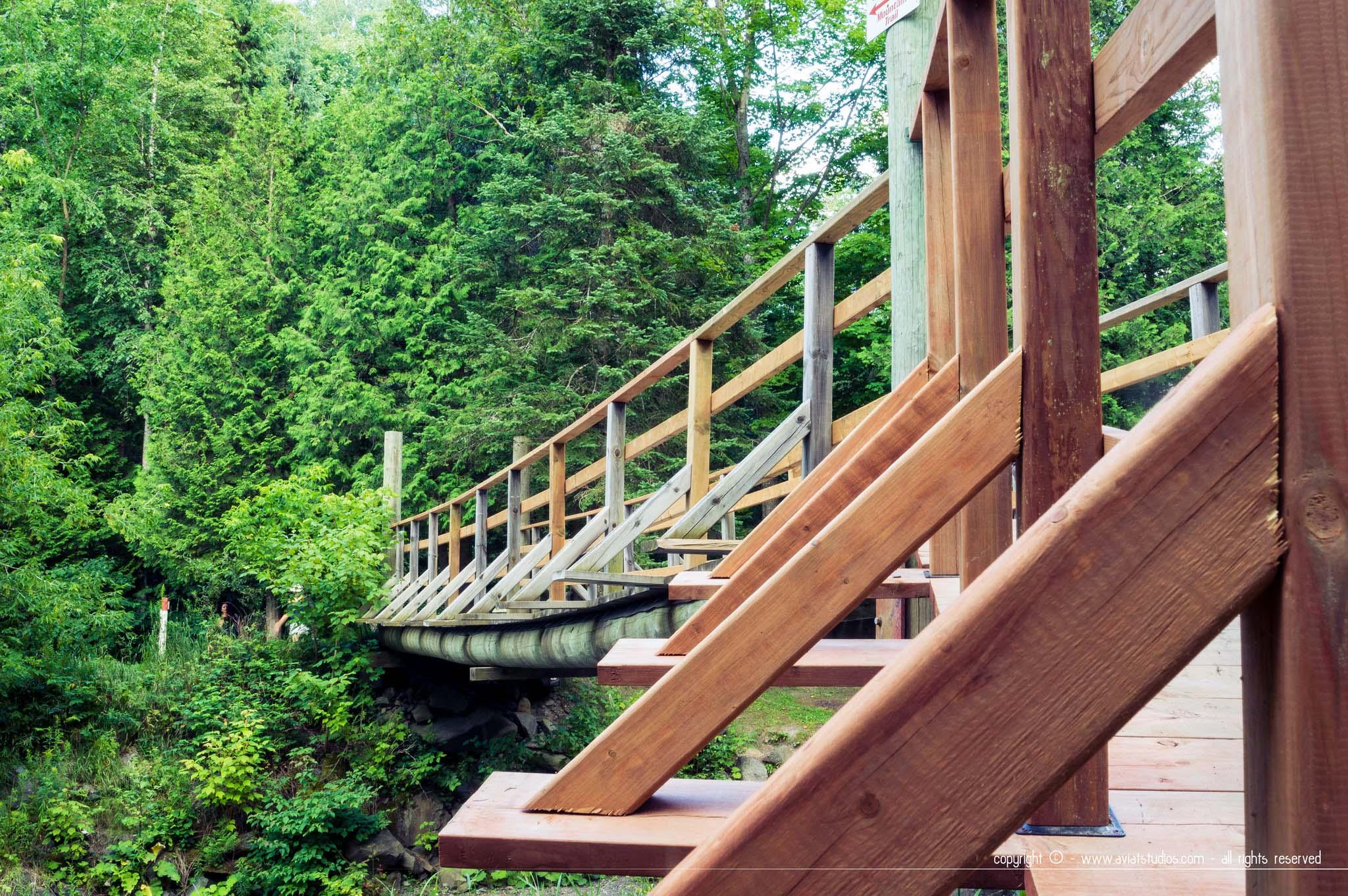 Coaticook - Pont en bois
