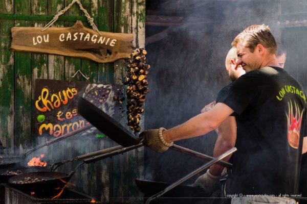 fête de la Châtaigne de Collobrières - Lou Castagnie