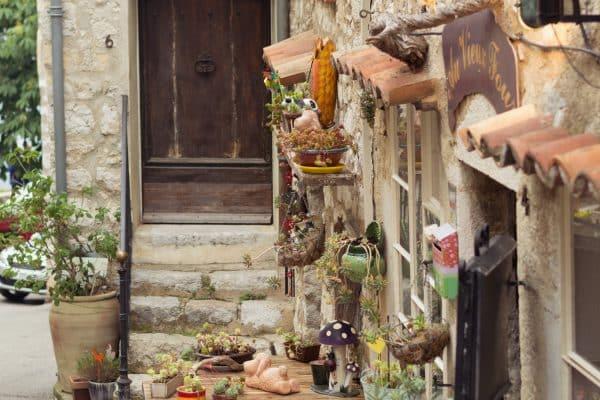Une journée à Gourdon - façade Au Vieux Four
