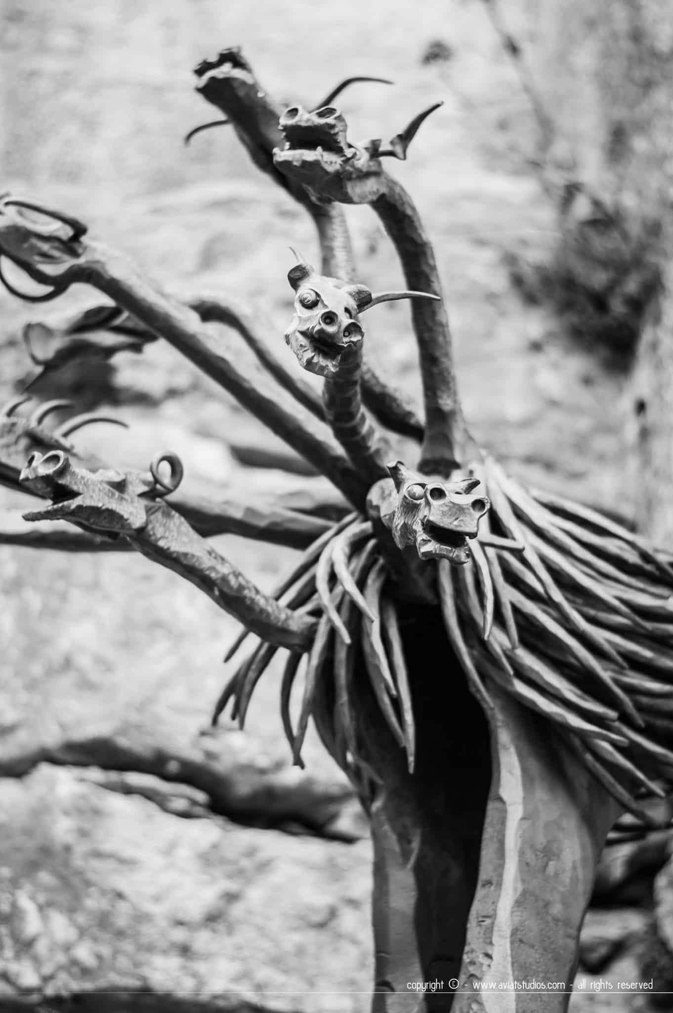 Une journée à Gourdon - Sculpture