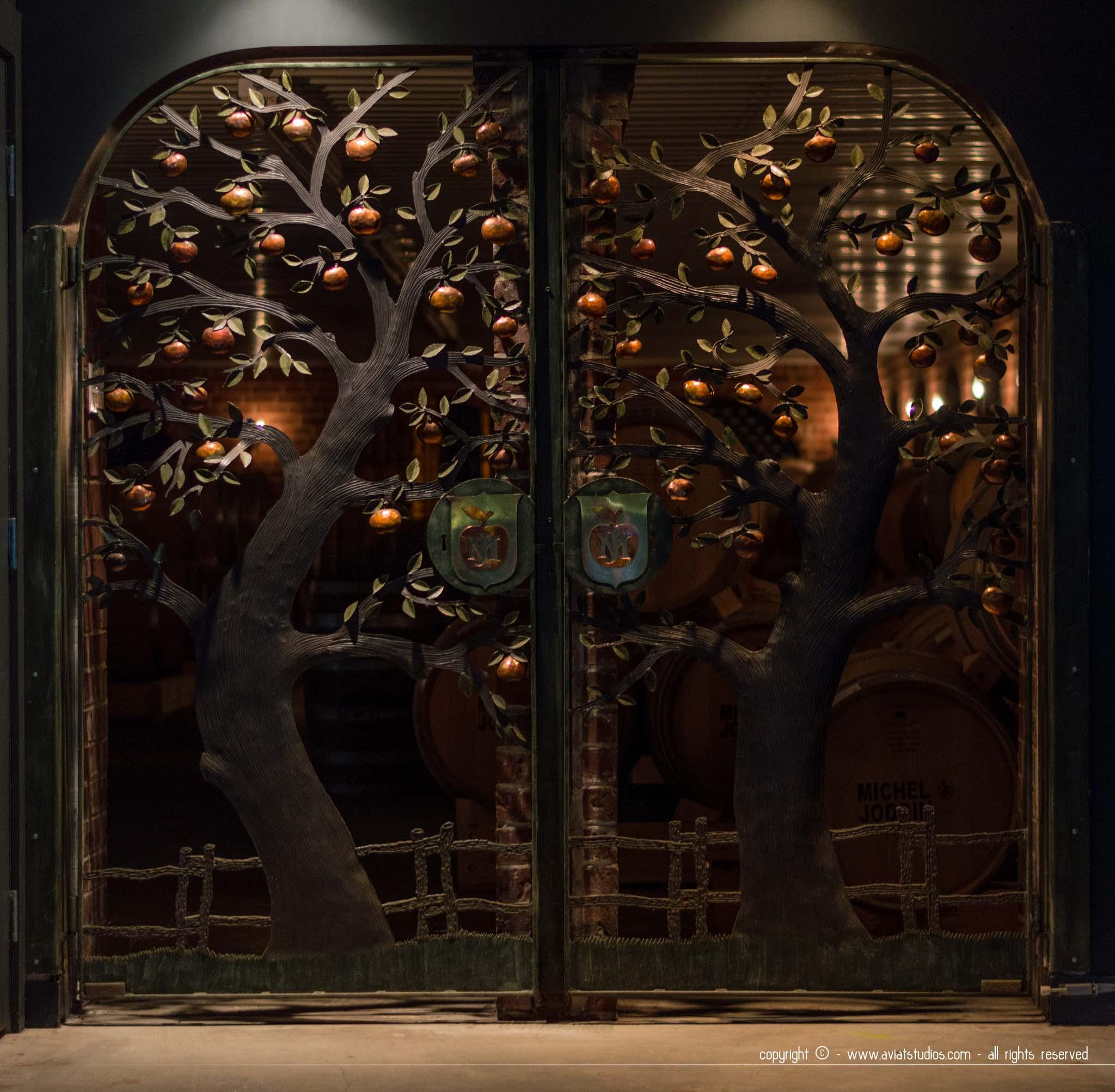 Cidrerie Michel Jodoin - Porte de la cave