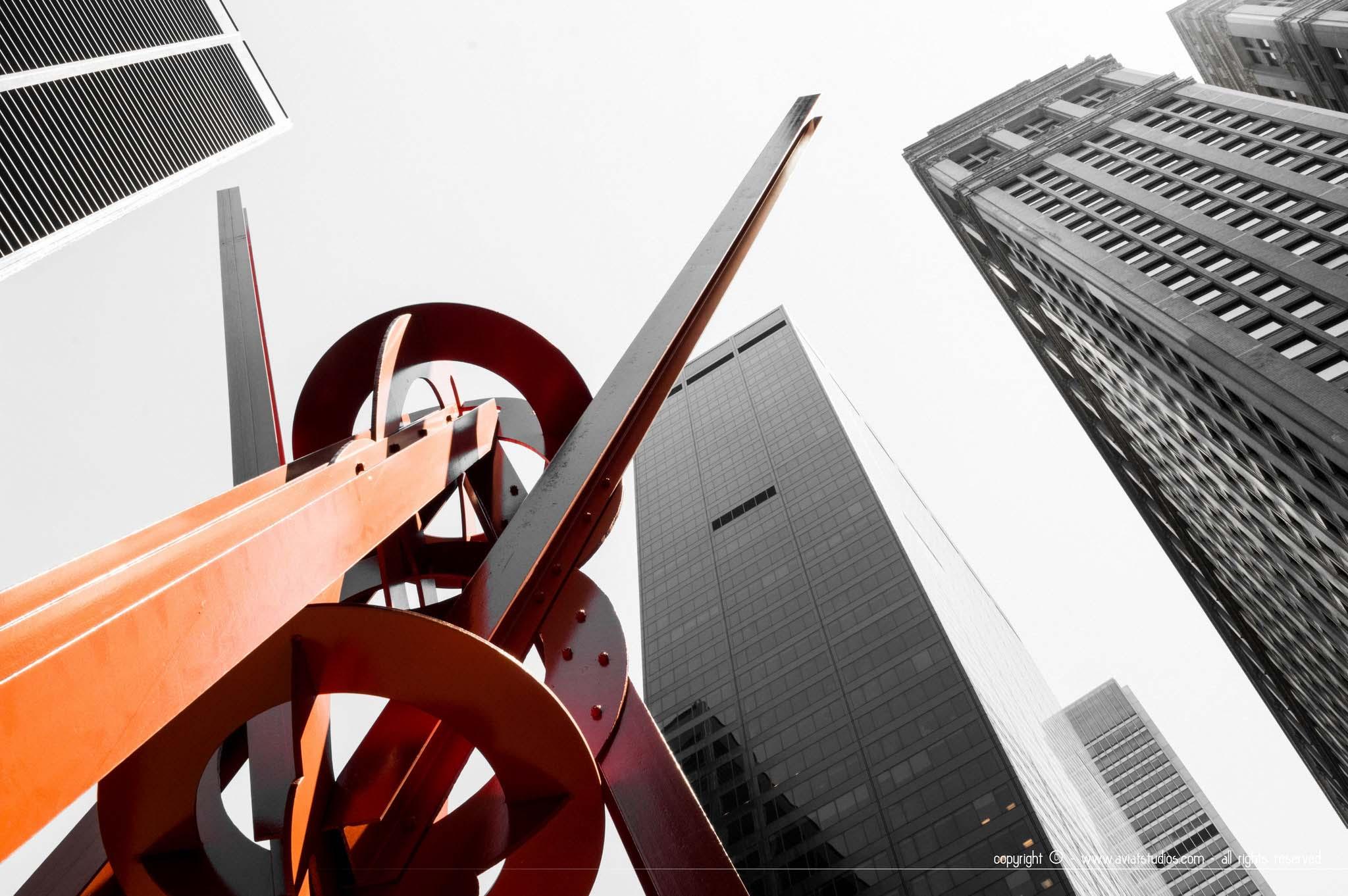 Un week-end à New-York - Buildings de Manhattan