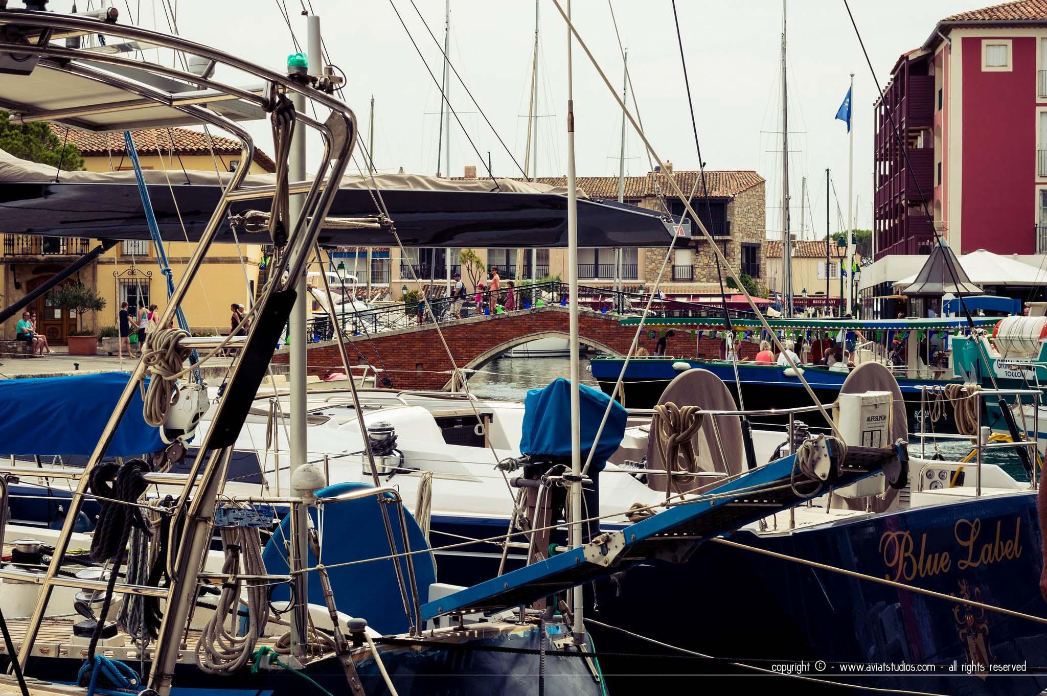 Une journée ensoleillée à Grimaud & Port-Grimaud, Var