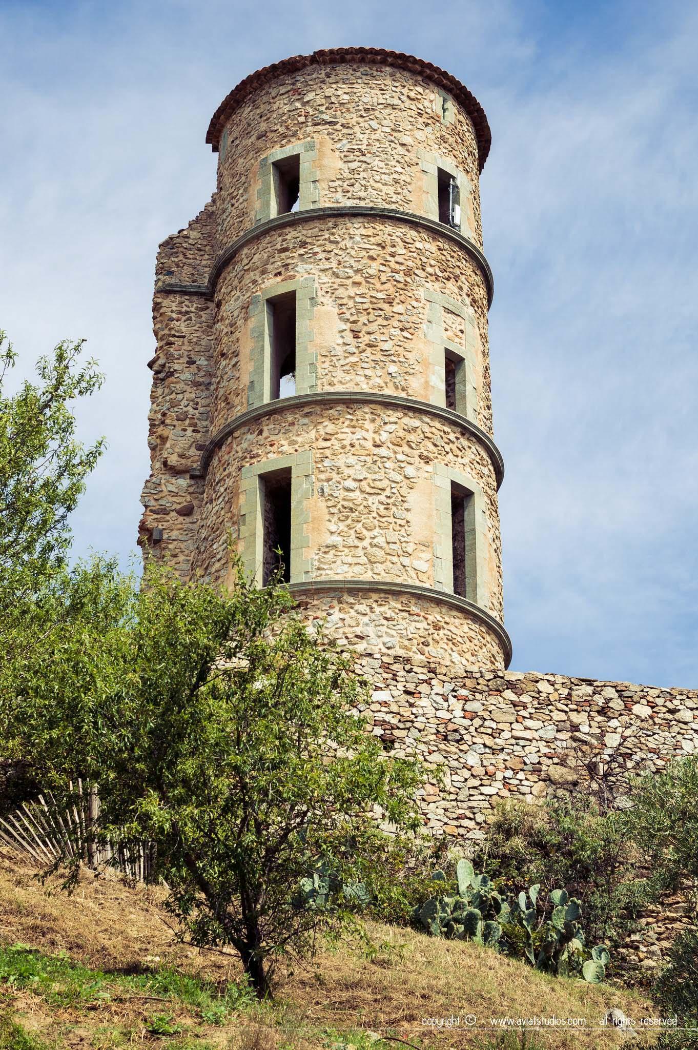 Grimaud & Port-Grimaud - Château de Grimaud