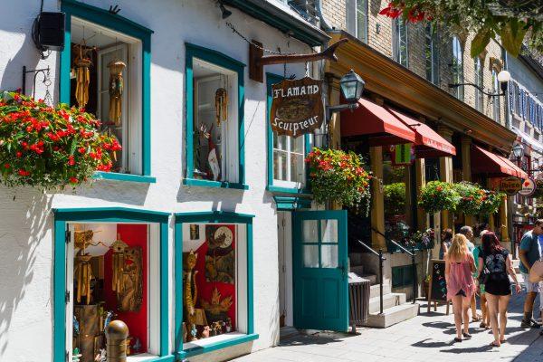 Une journée à Québec - Ruelle du petit Champlain
