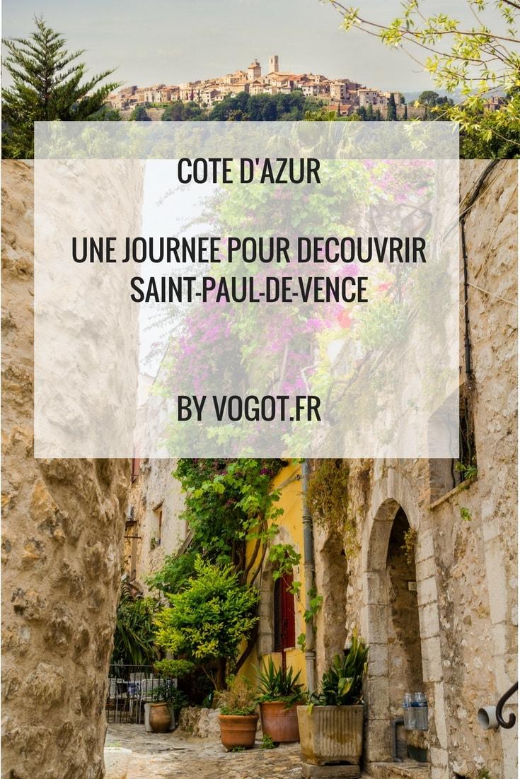 Photographies, les meilleurs spots et les bons plans pour visiter Saint-Paul-de-Vence. Vogot vous fait découvrir ce village à travers les cinq sens.