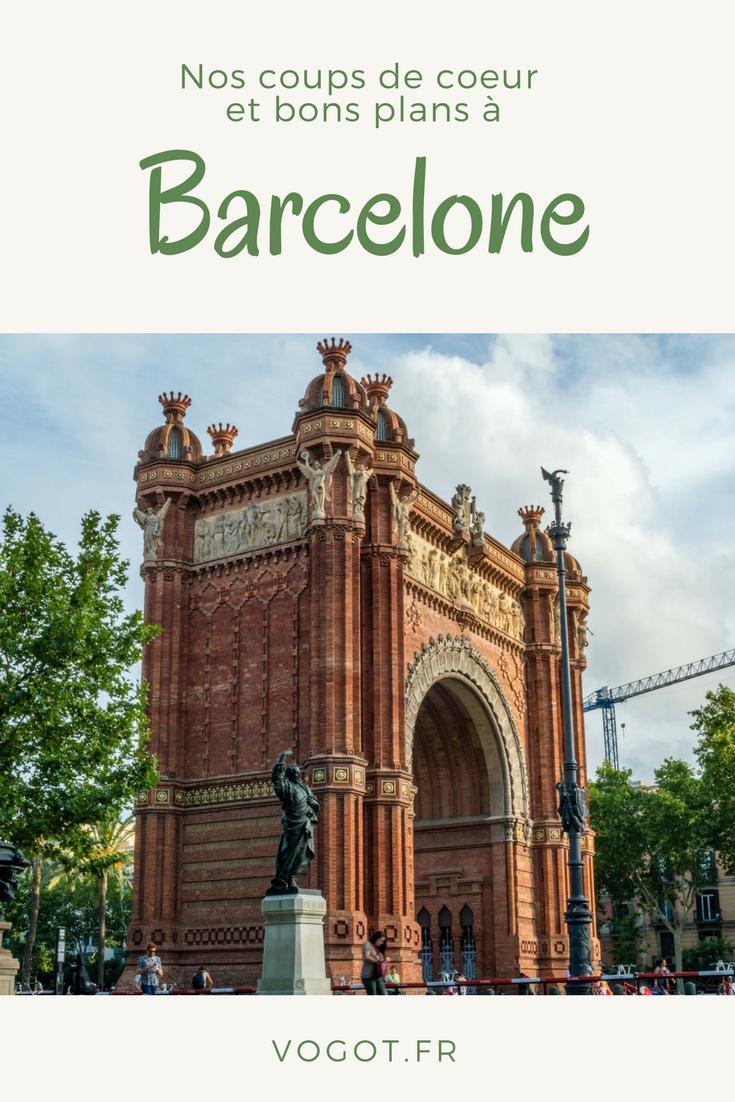 Nous avons passé une semaine à Barcelone, découvrez tous nos coups de coeur pour l'une des plus belles villes d'Europe !