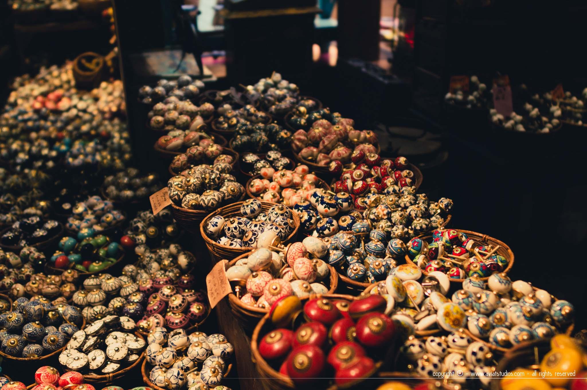 Les boutons de Rickshaw, passage du Grand-Cerf