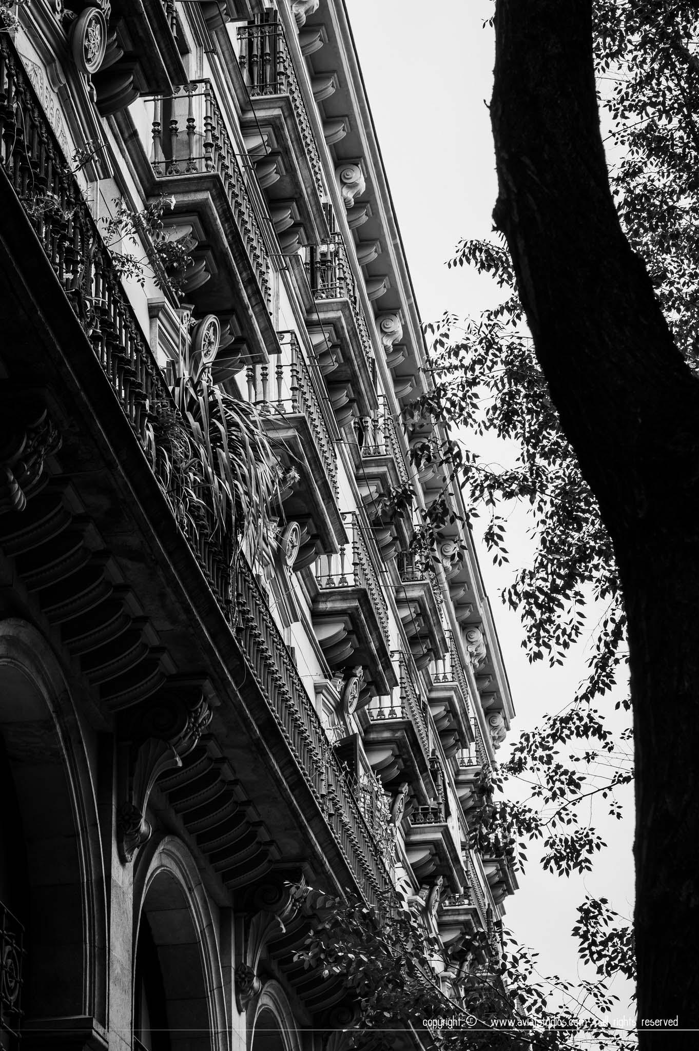 Une photo représentant bien l'identité visuelle de Barcelone