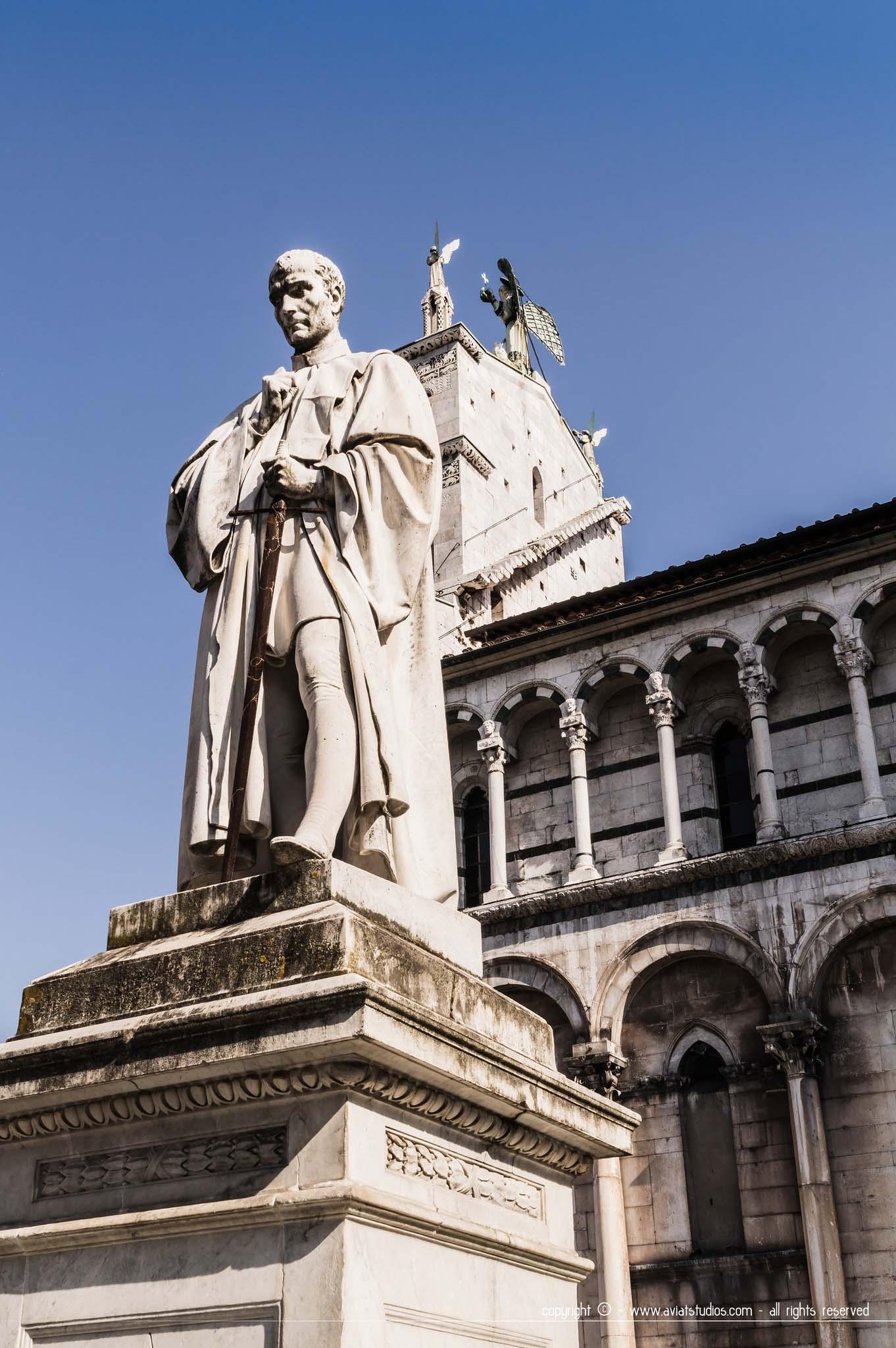 Lucca est également riche sur le plan artistique