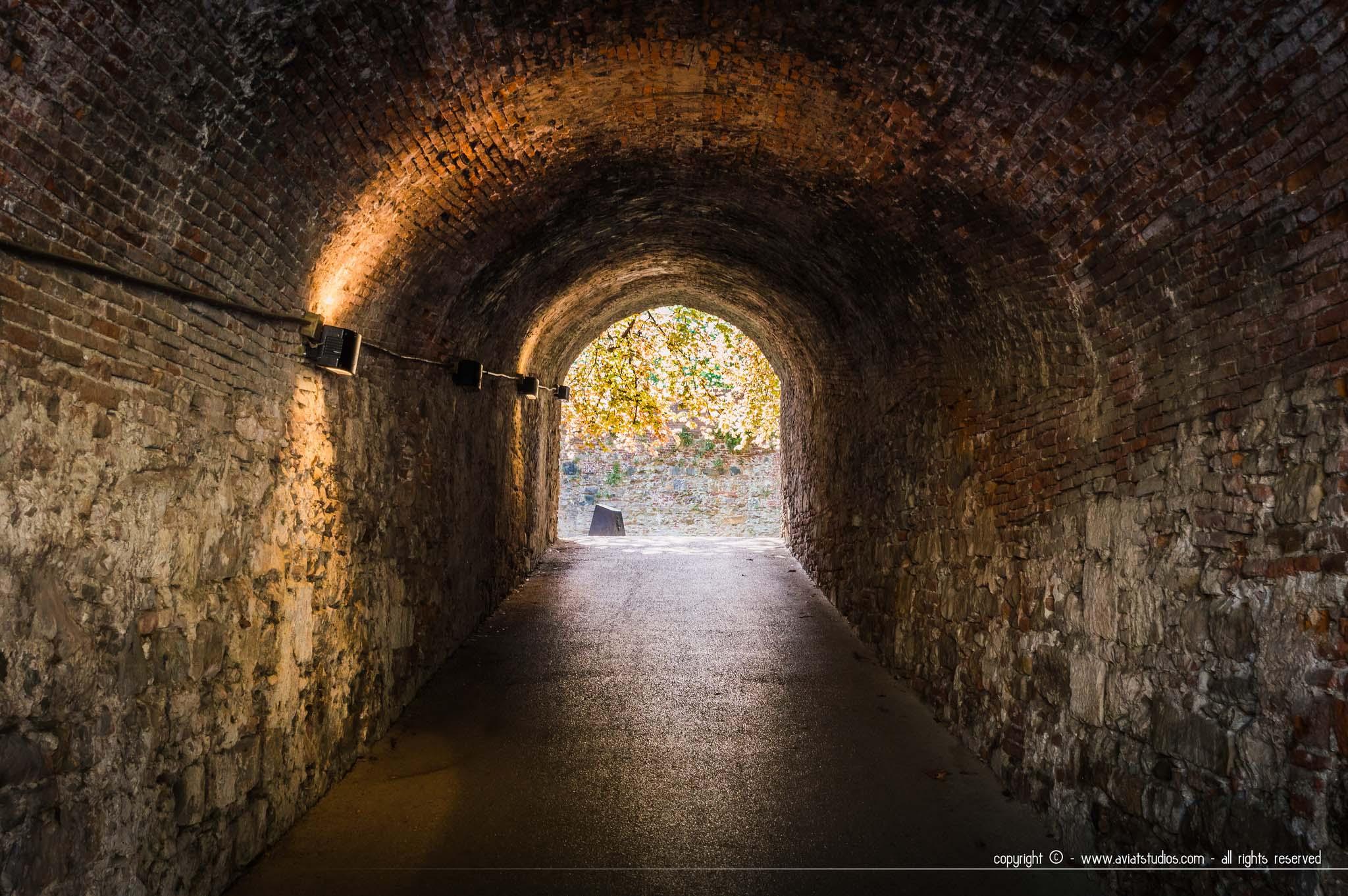 Lucca -les remparts de la ville