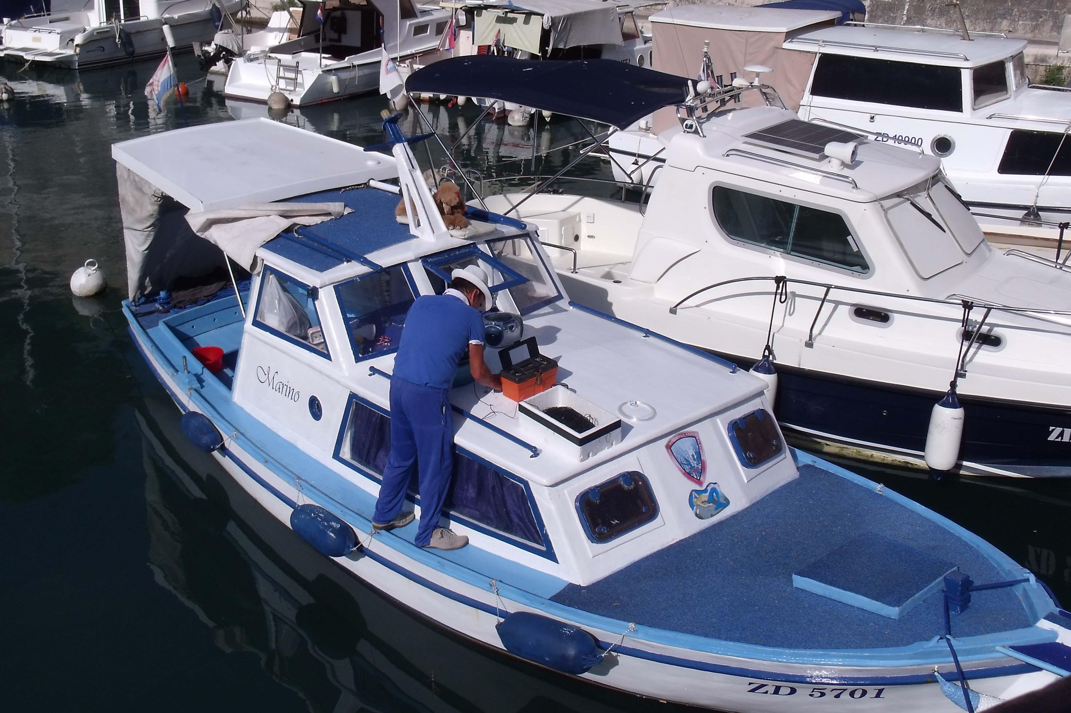 Le port de Zadar