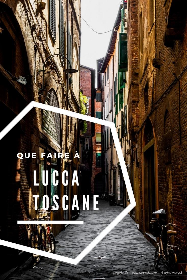 Une journée à Lucca : escapade shopping à la rencontre de la tradition et de la modernité. Nos impressions, coups de coeur et bonnes adresses.