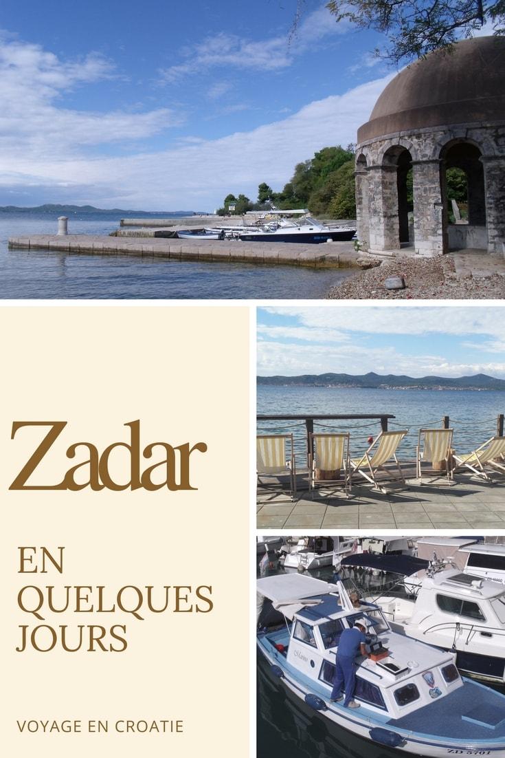 Quelques jours à Zadar : Photographies, bons plans et impressions sur la ville de Zadar. Vogot vous fait découvrir la ville à travers les cinq sens.