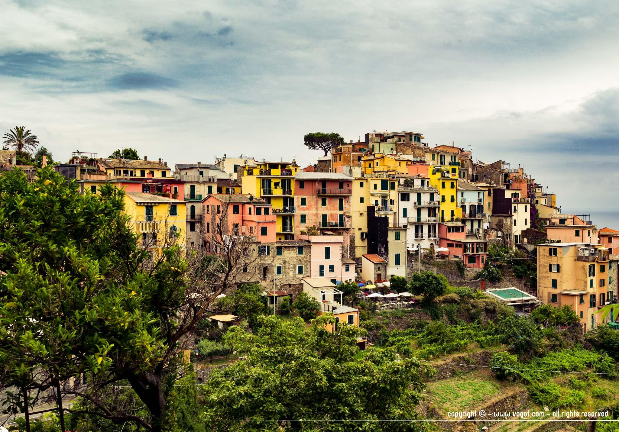 Le village très coloré de Corniglia