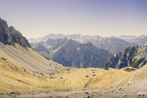 Trek dans le Queyras - le col de Furfande et son refuge
