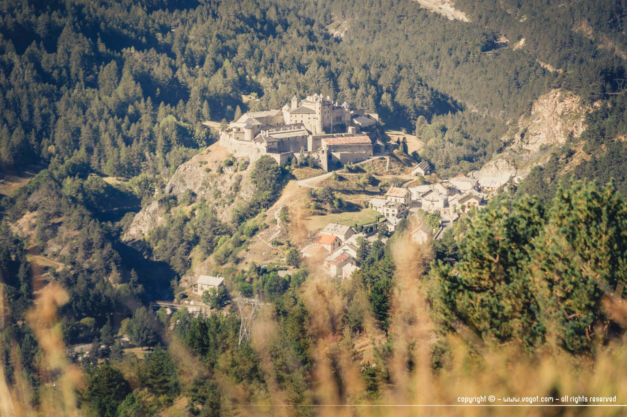 Vue sur Château-Queyras