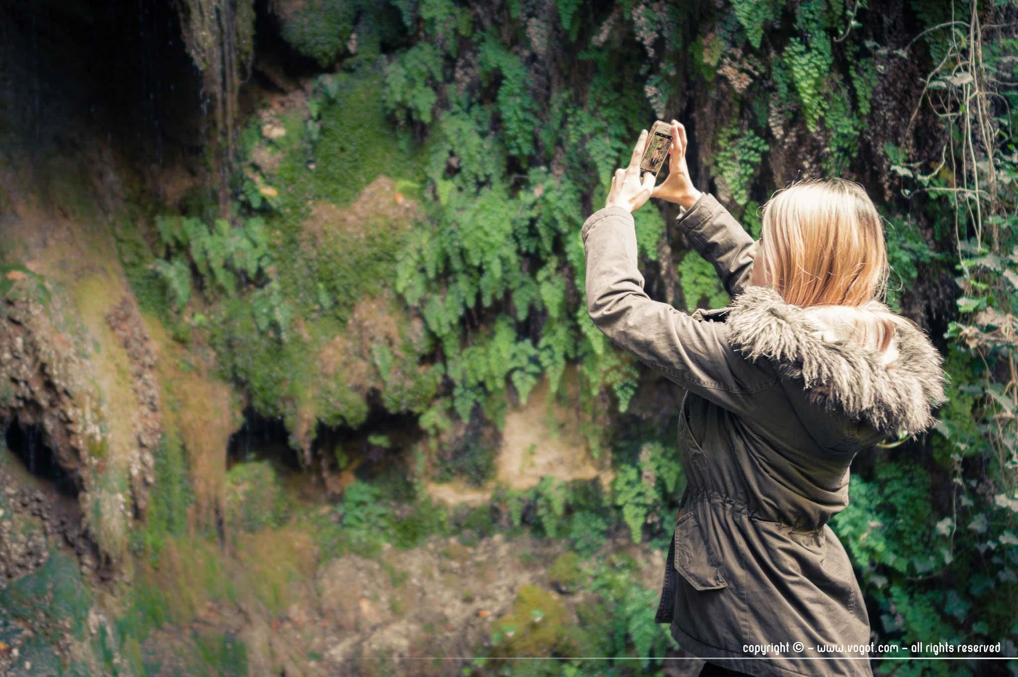 Vallon obscur du Donareo - Chloé immortalise cette nature