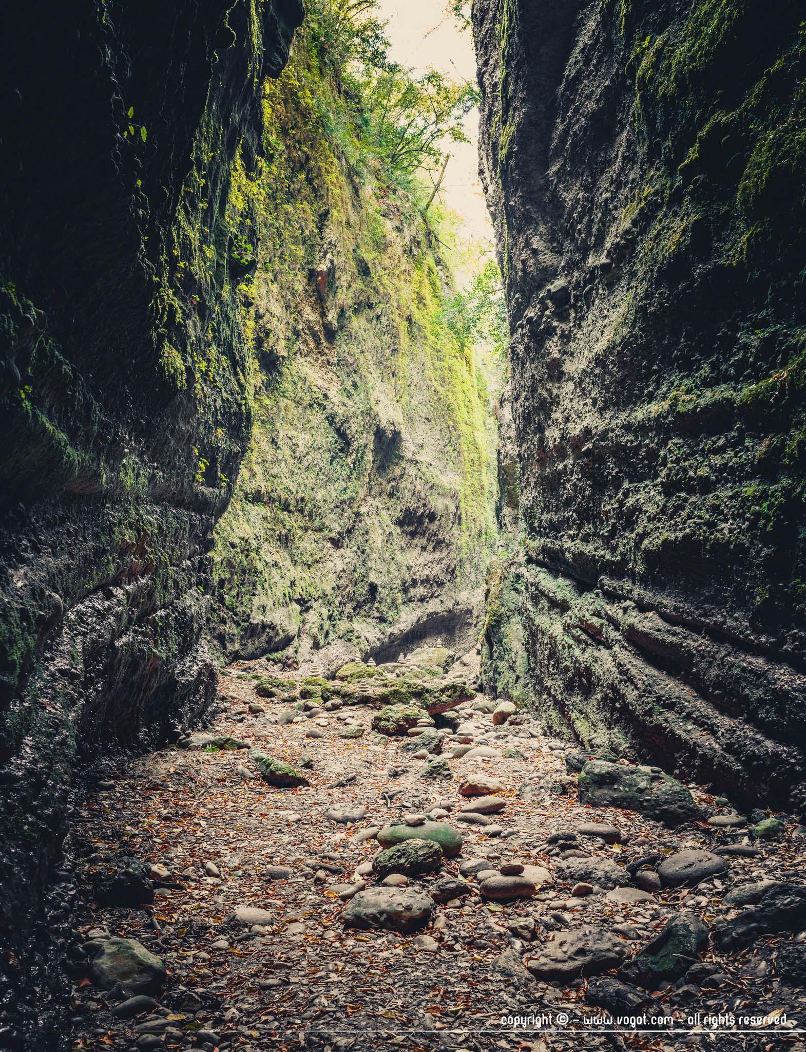 Vallon obscur du Donareo