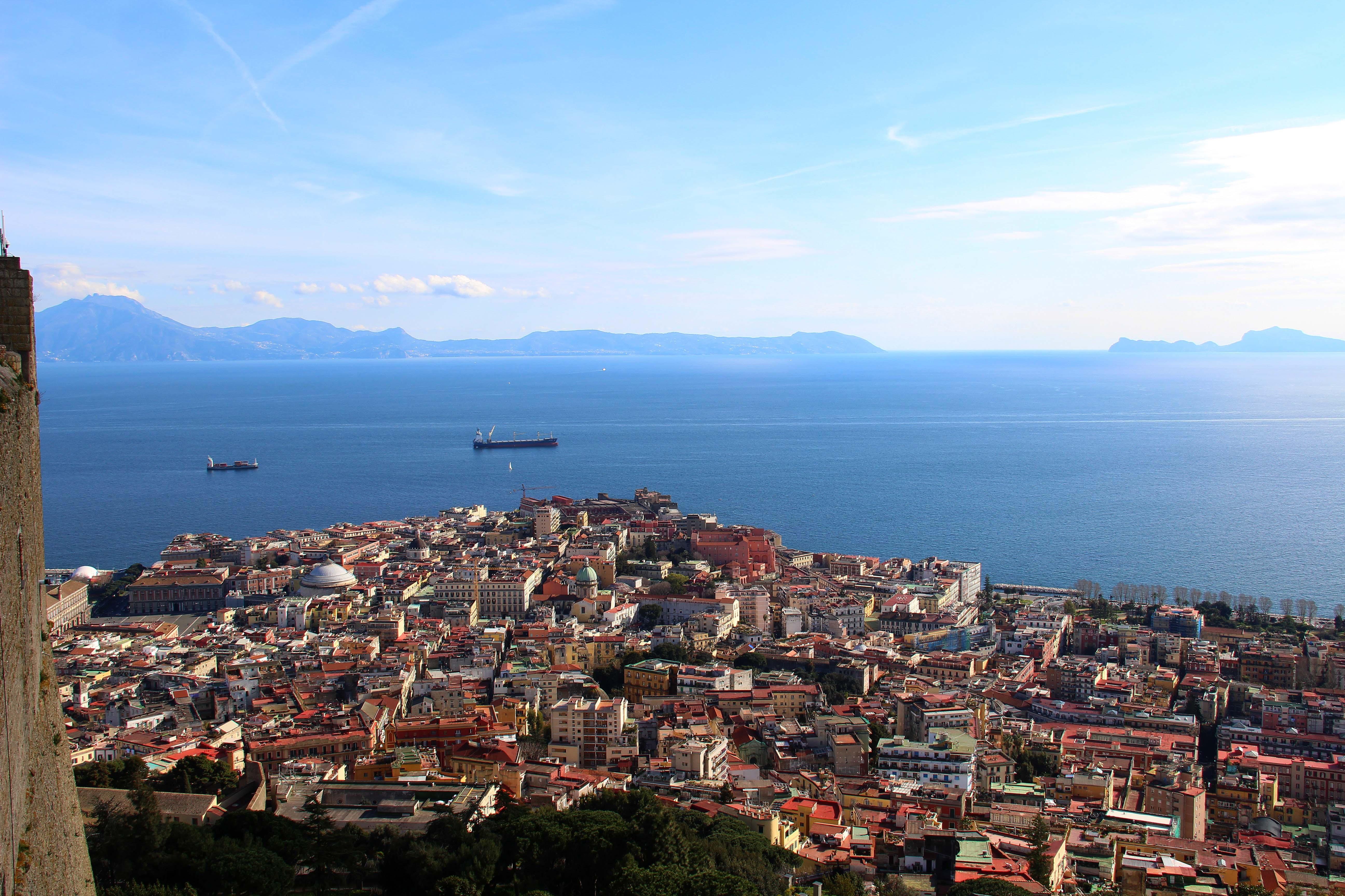 Naples epuis le château Sant'Elmo