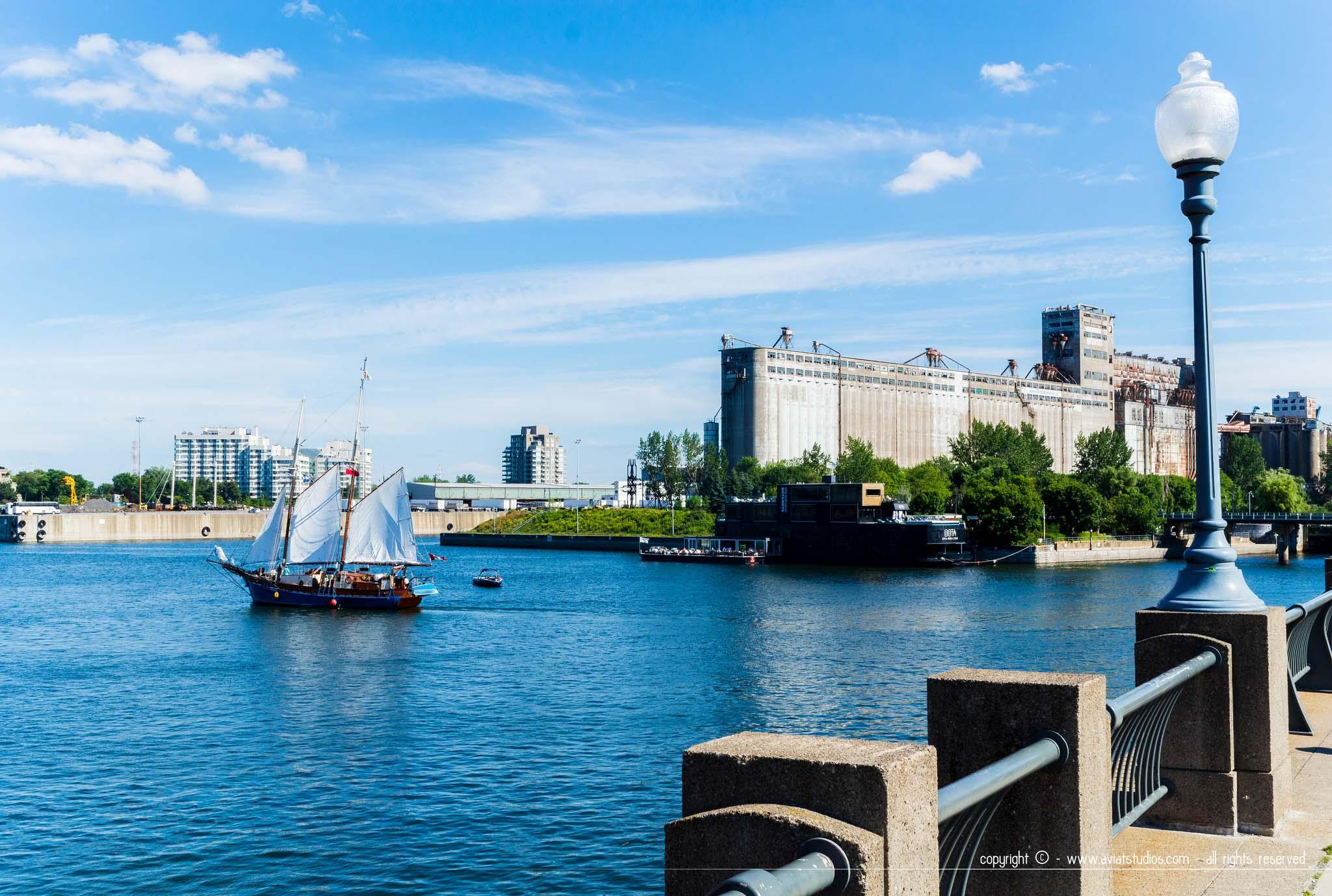 Montréal - sur les quais du vieux port