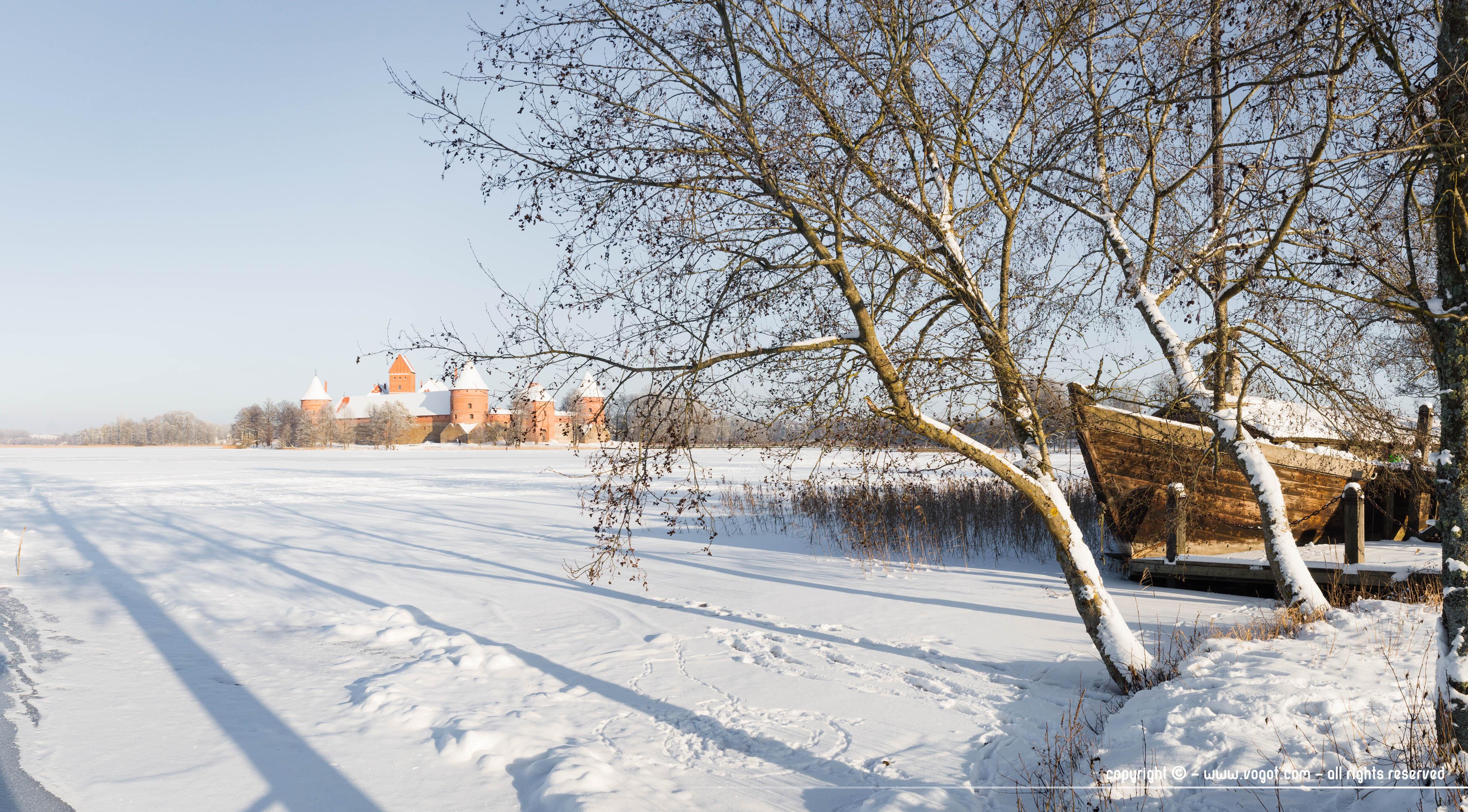 Immersion Karaïte à Trakai en hiver