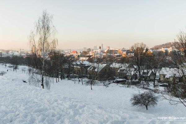 une semaine à Vilnius - Subačiaus apžvalgos aikštelė