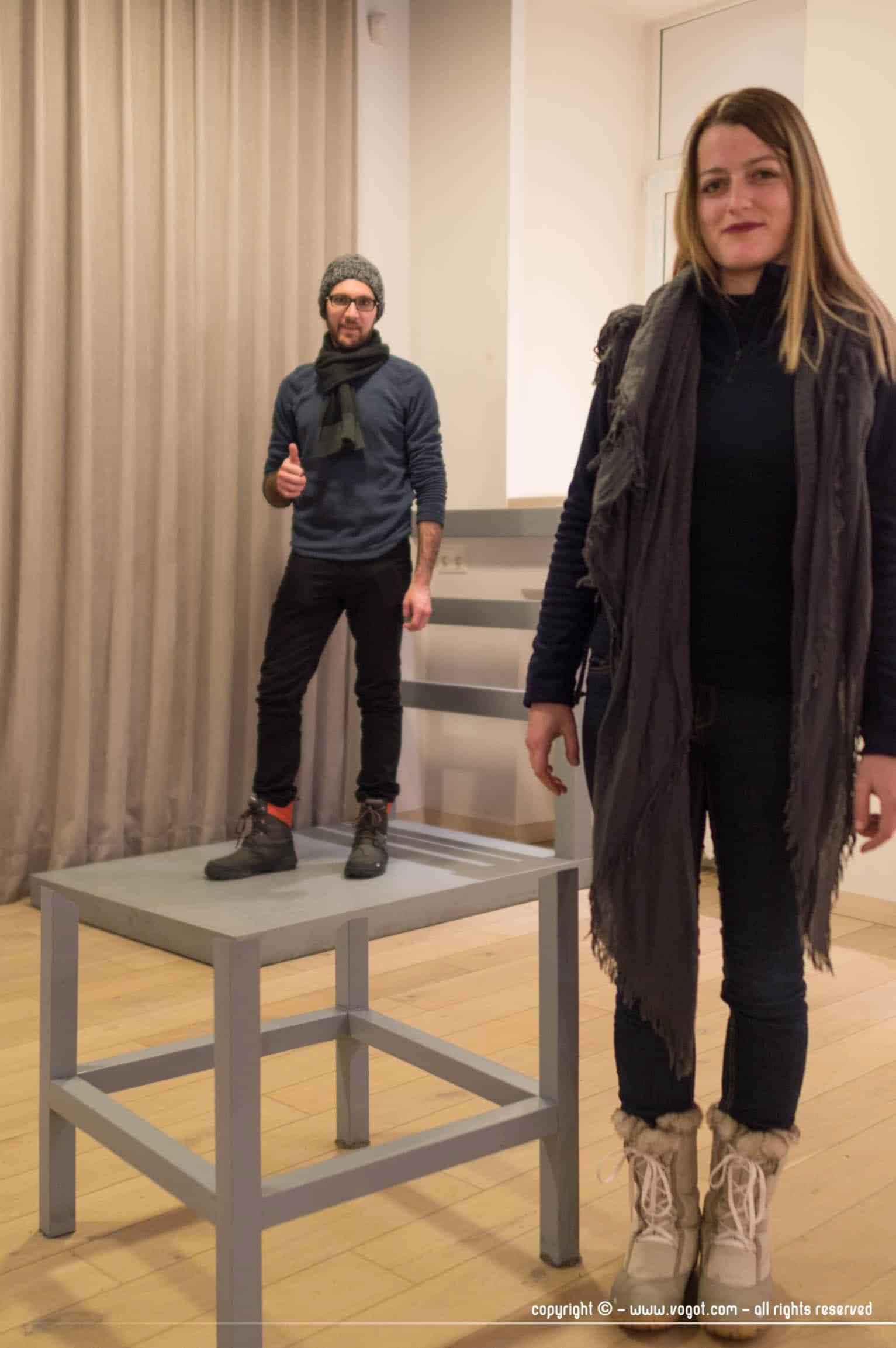 une semaine à Vilnius - Musée des illusions