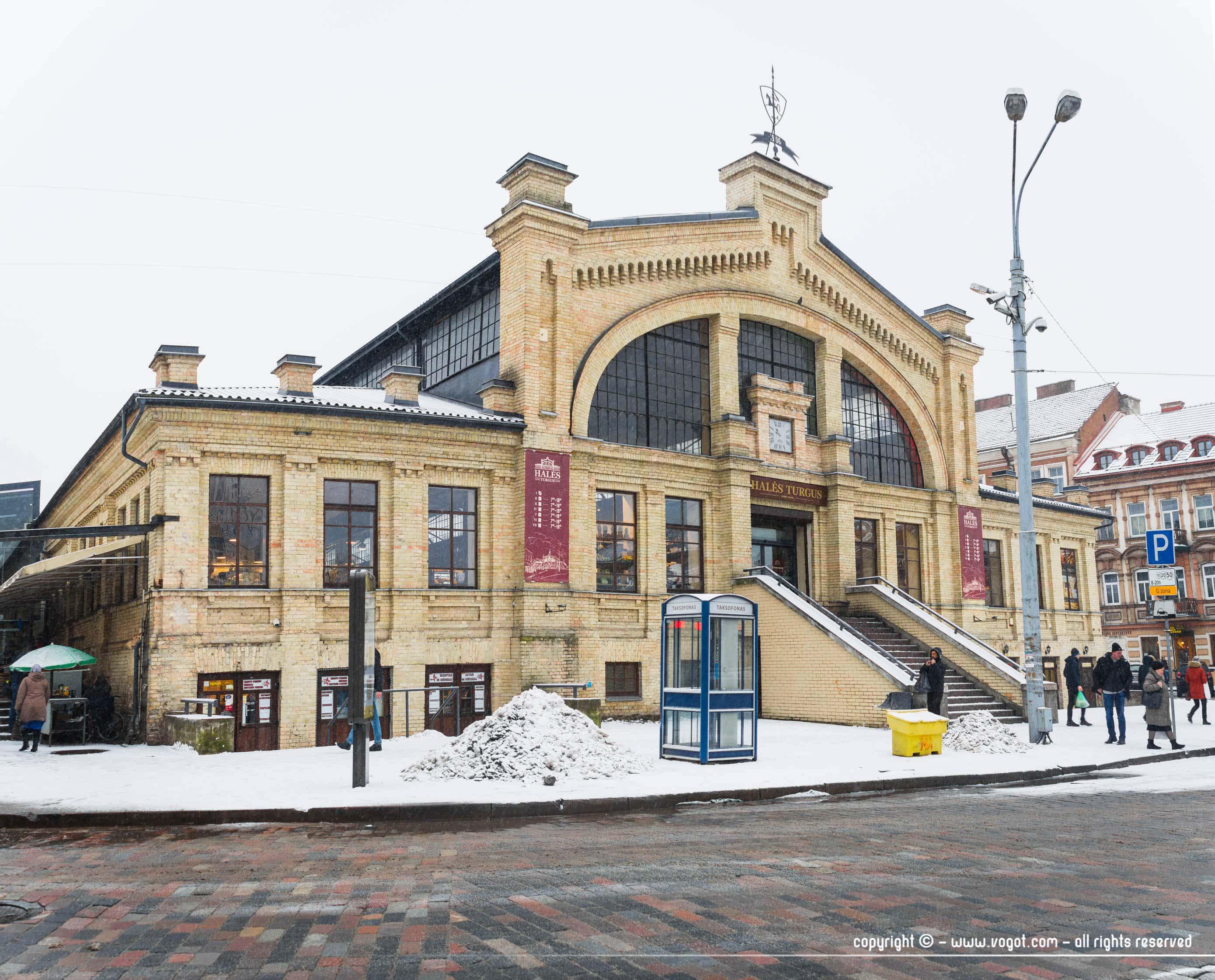 une semaine à Vilnius - Le marché des halles