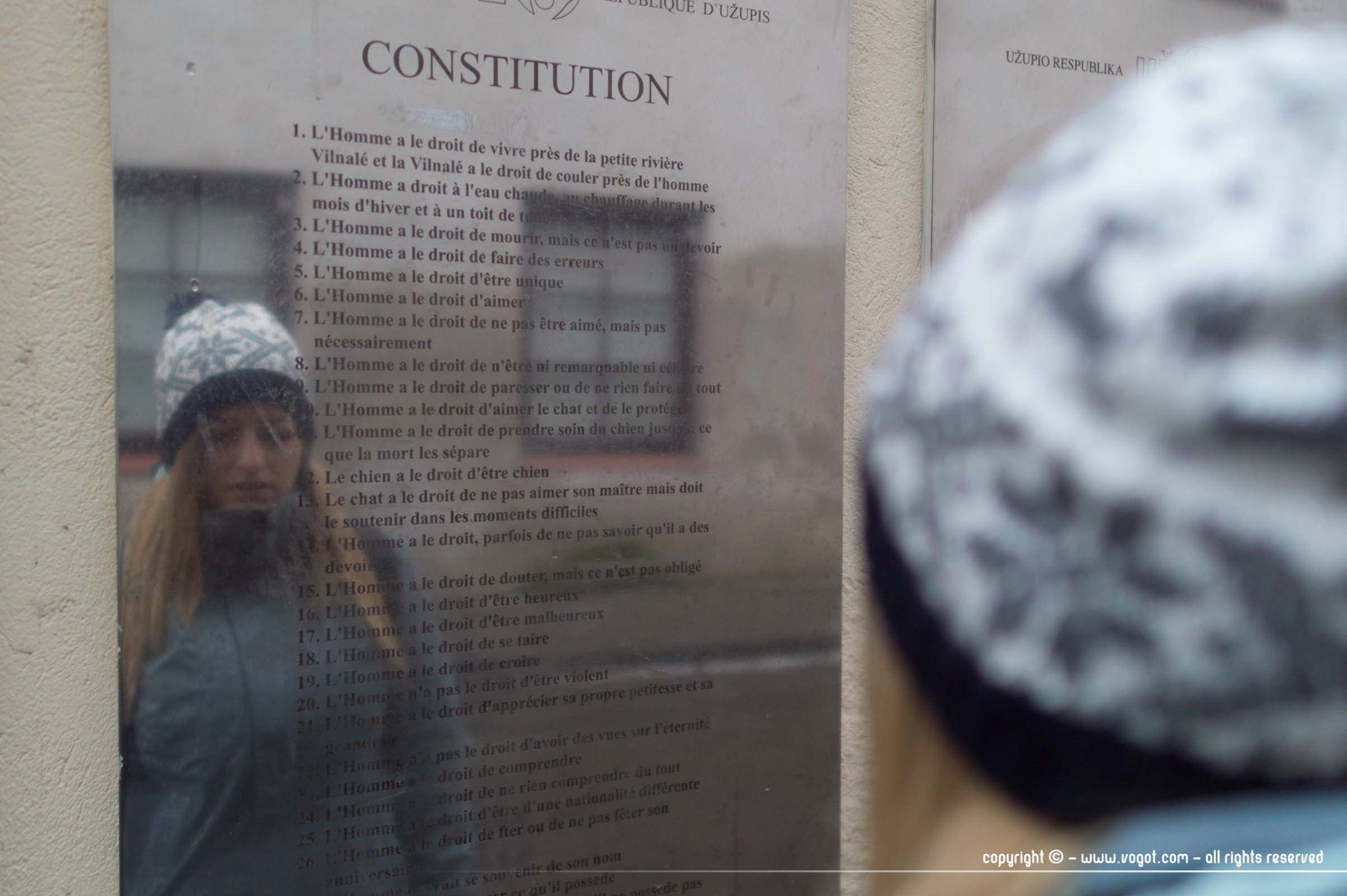 Uzupis - Constitution