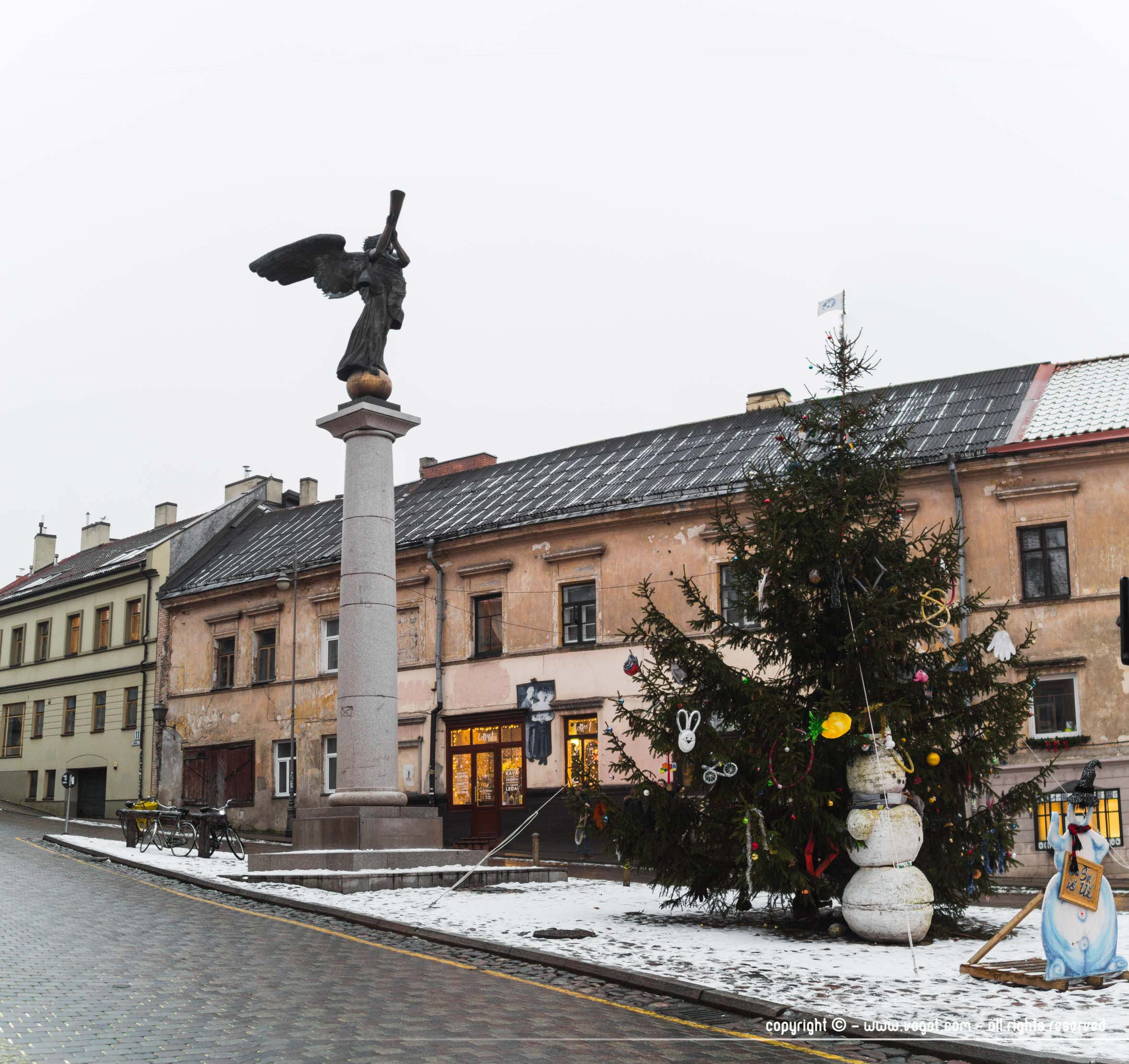 L'ange d'Uzupis - Vilnius