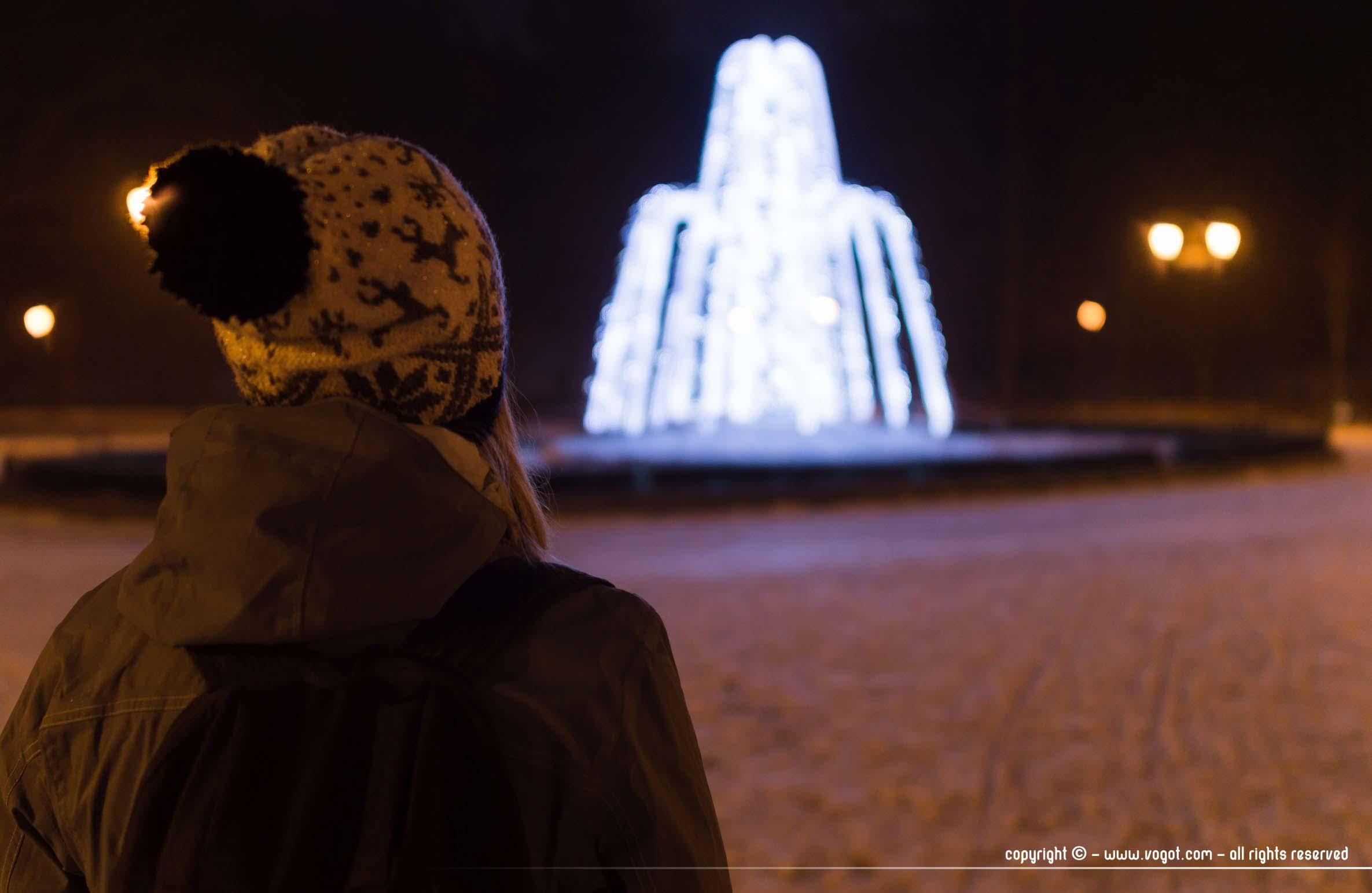 Le parc des Bernardins de Vilnius