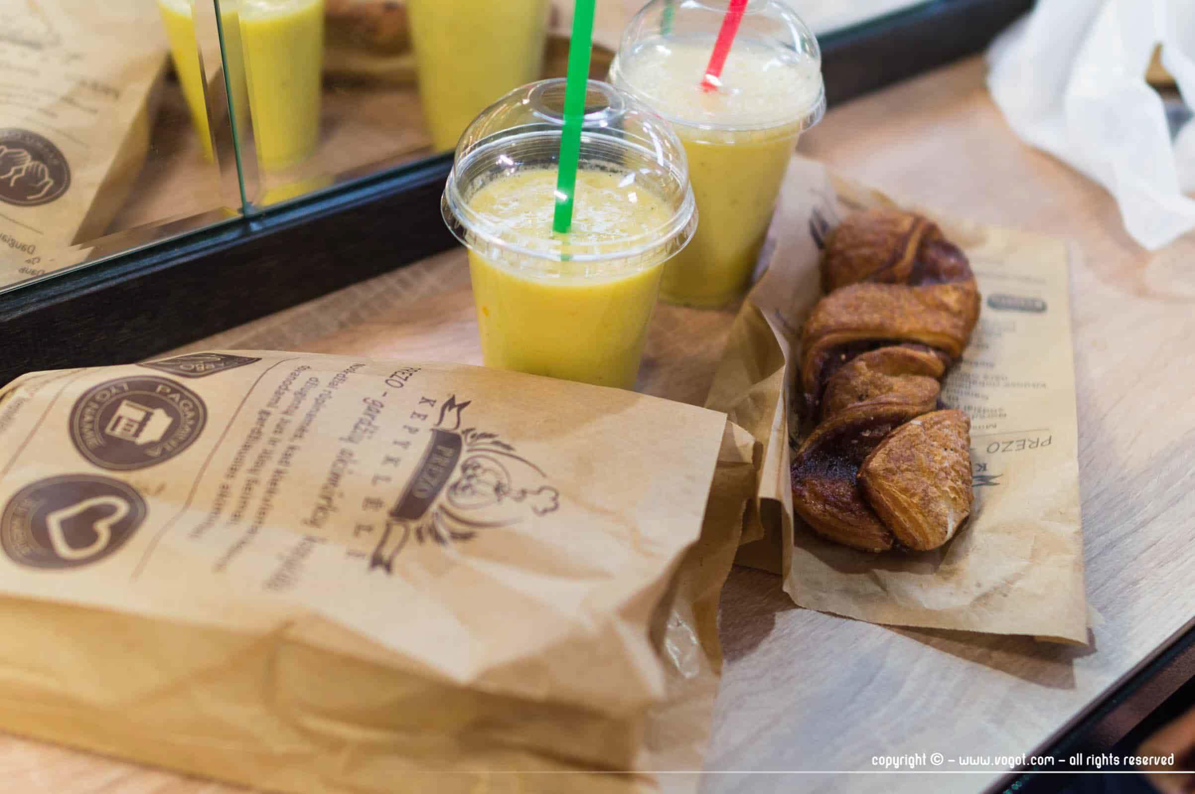 Petit-déjeuner aux halles - Vilnius