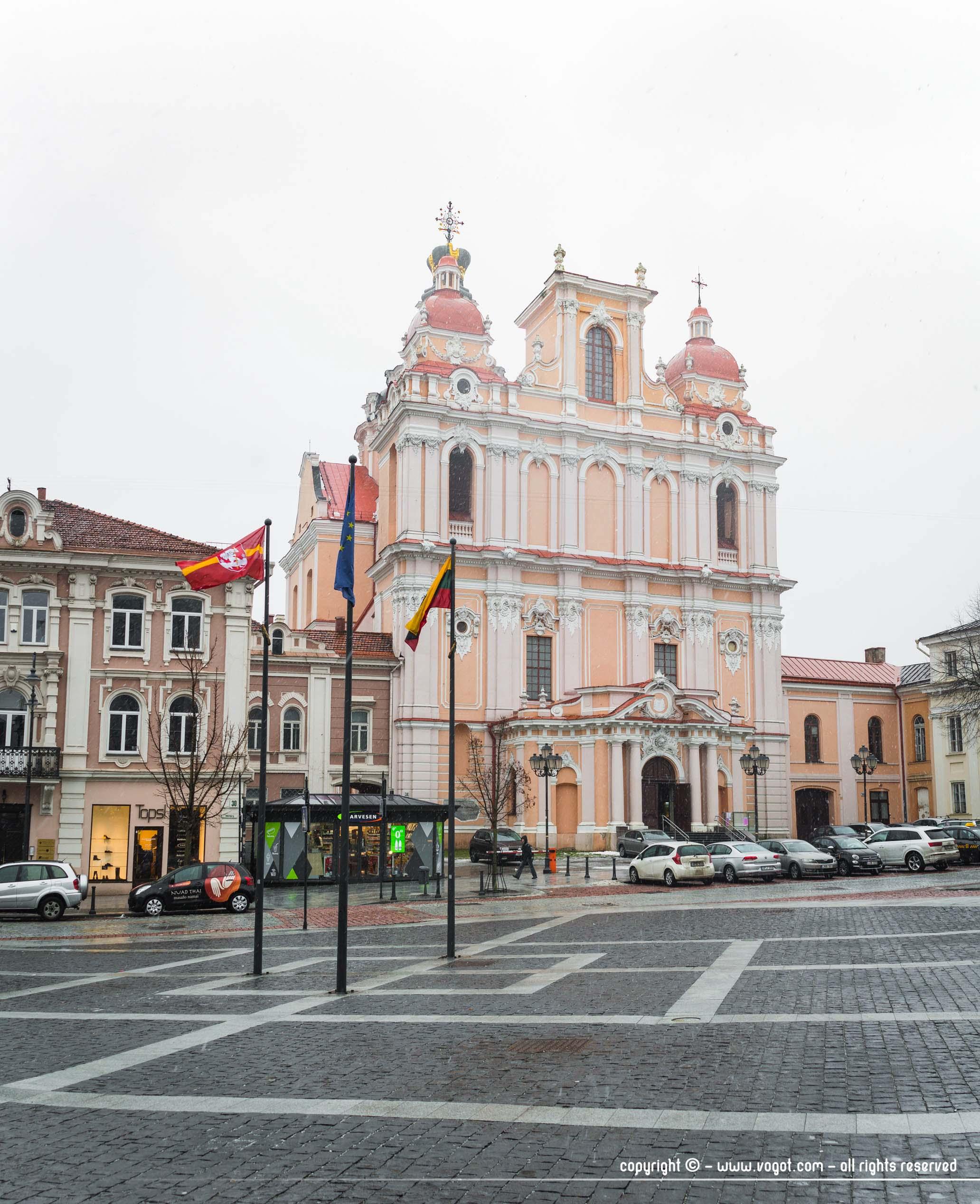 Eglise Saint-Casimir de Vilnius