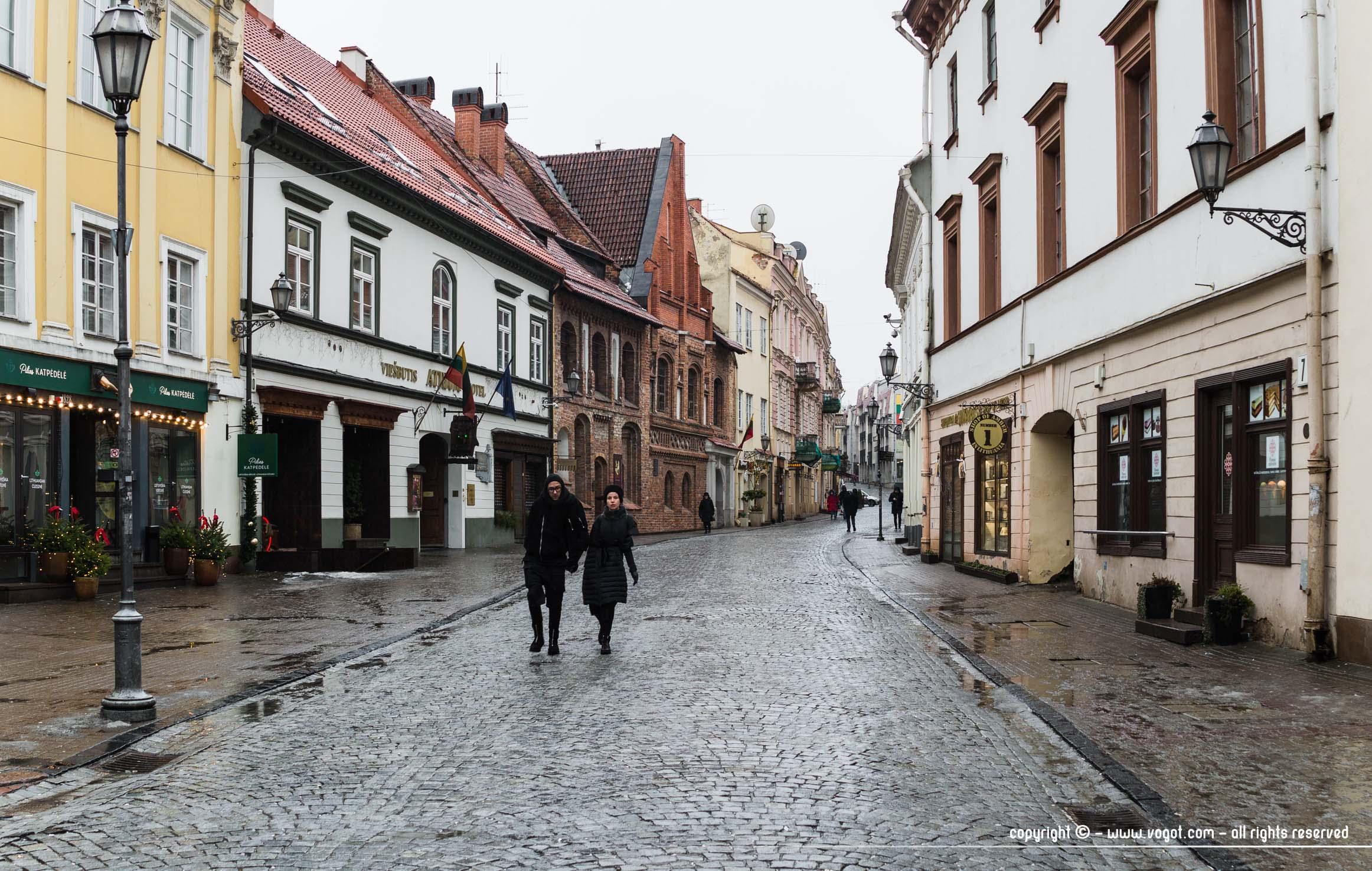 une semaine à Vilnius - Rue Pilies