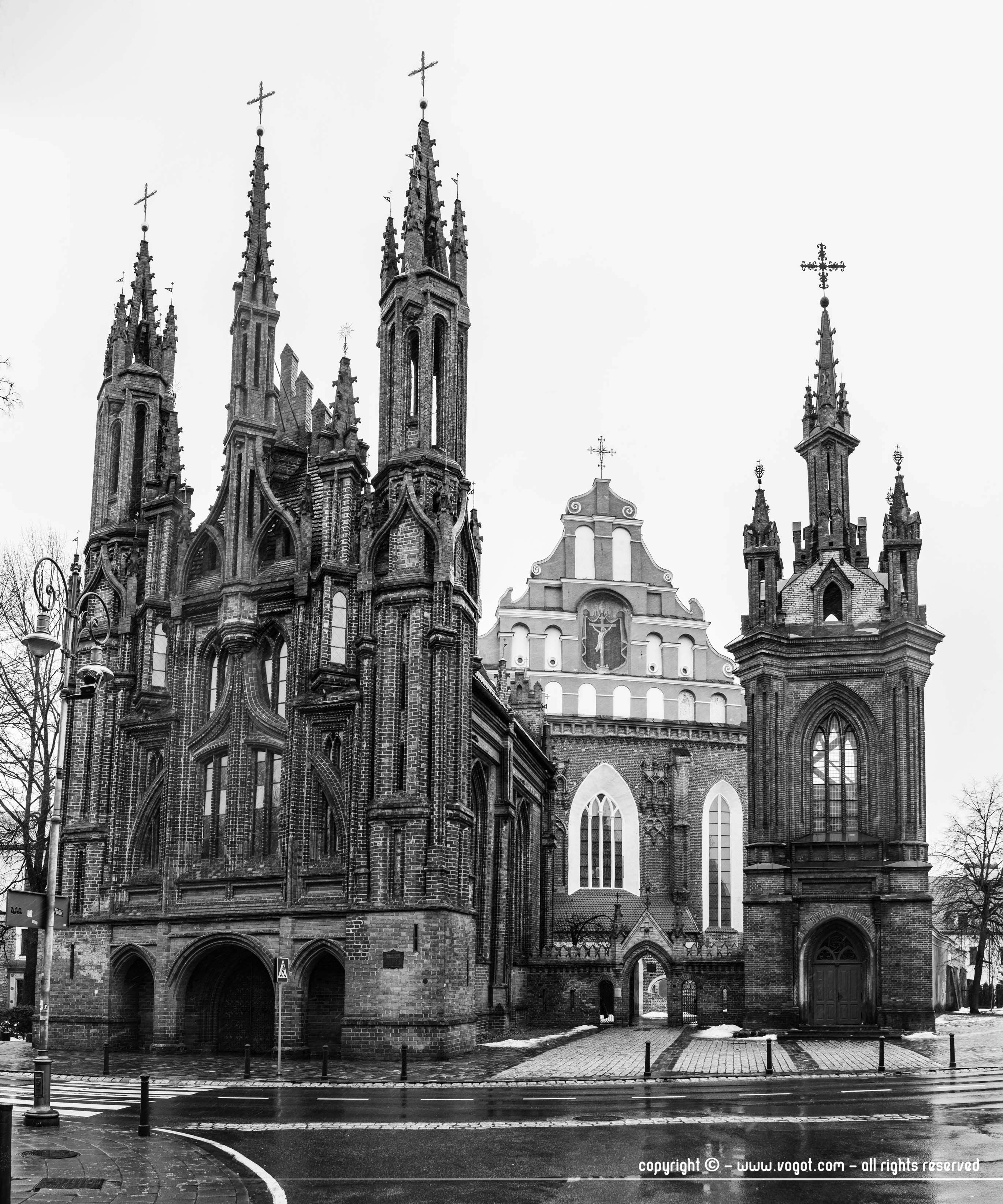 Eglise Sainte-Anne de Vilnius