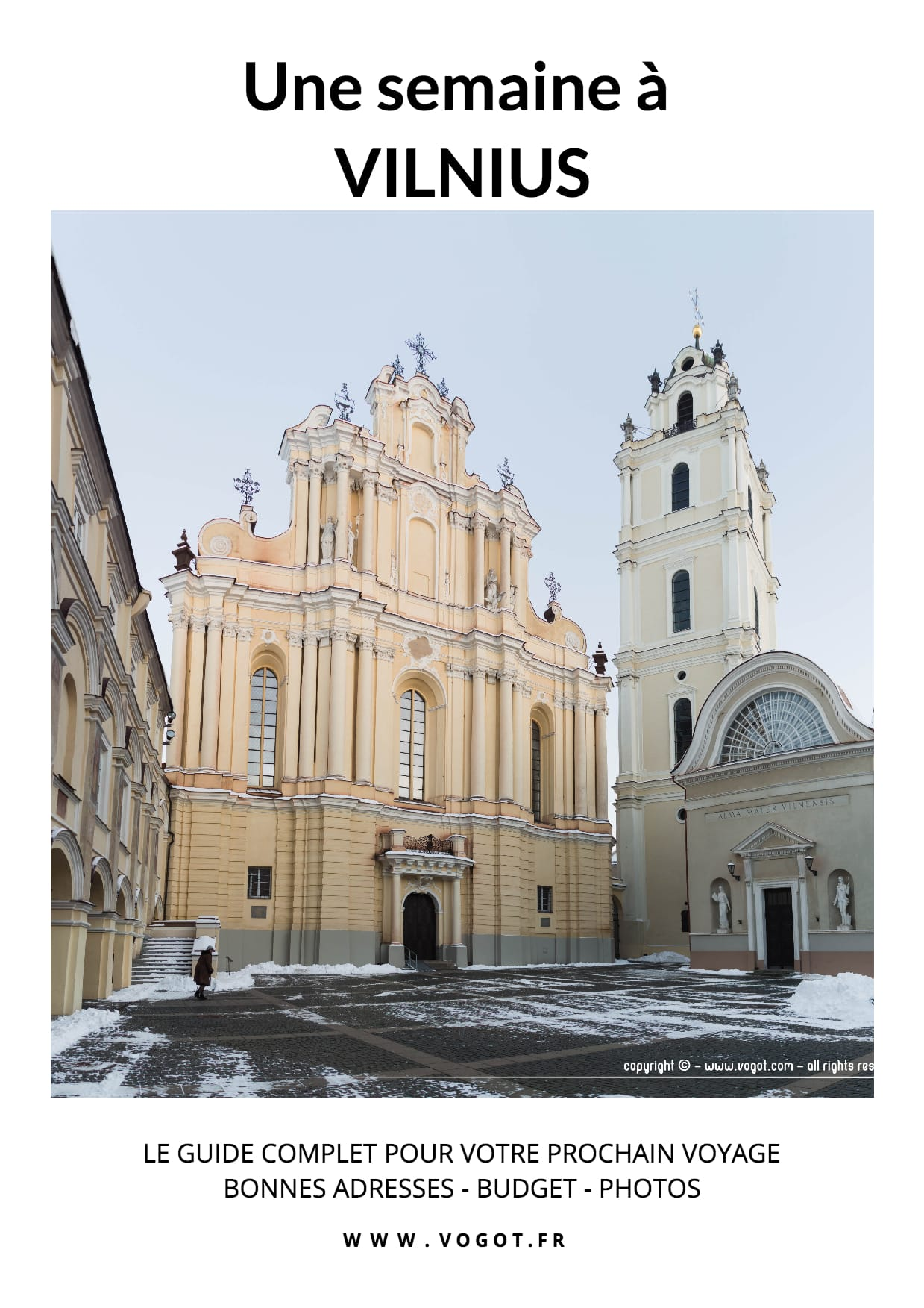 Le guide complet pour passer une semaine à Vilnius. Conseils, bonnes adresses, budget on vous raconte tout ici.