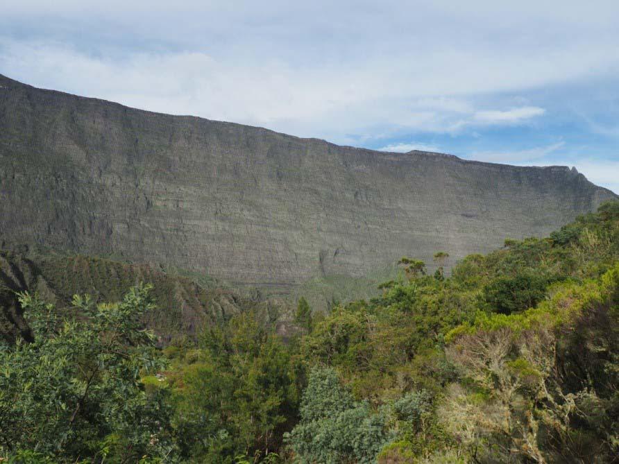 L'île de La Réunion - cirque de Mafate la Nouvelle