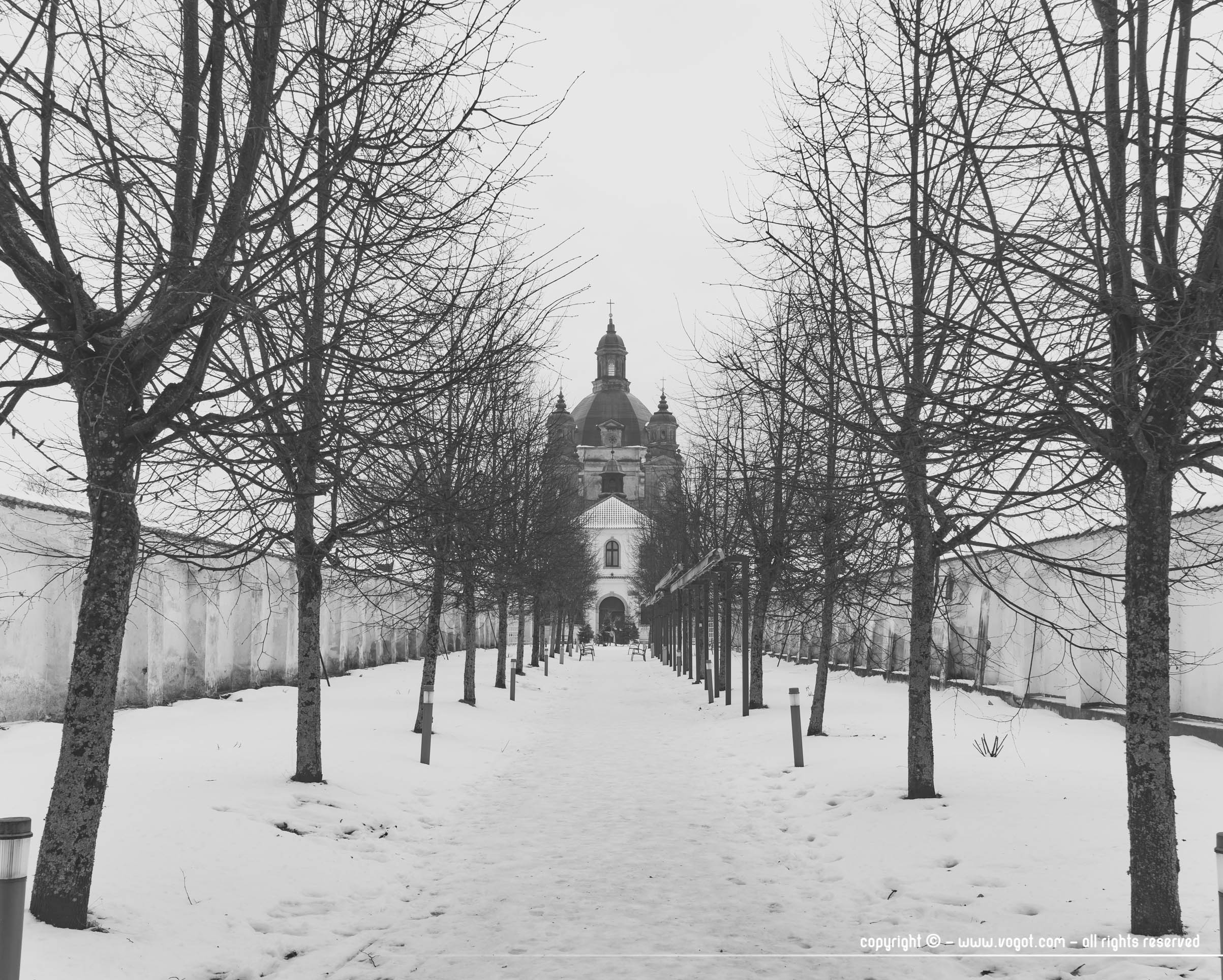 Une journée à Kaunas - le monastère de Pazaislis
