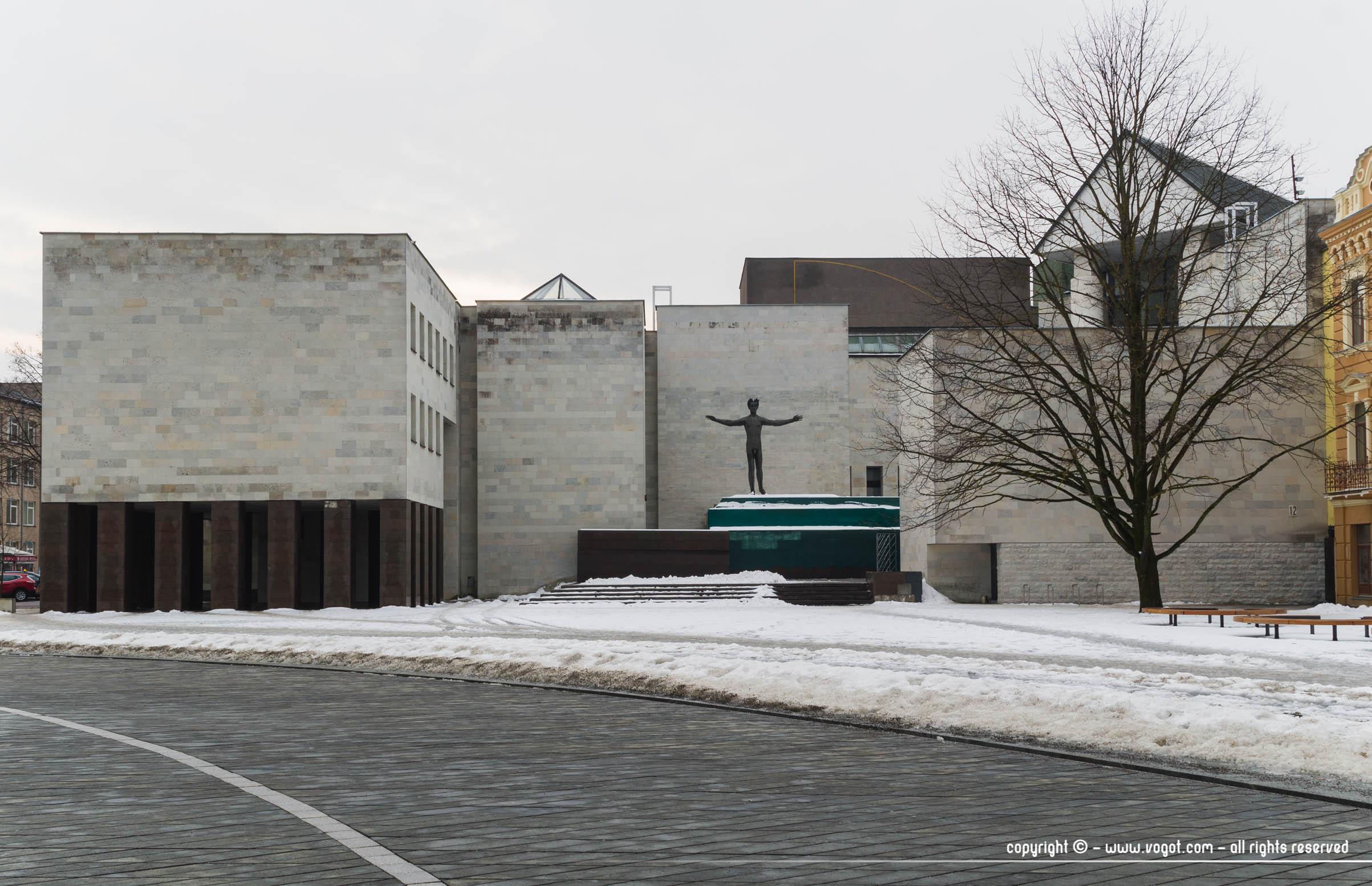 Une journée à Kaunas - Musée national d'art - architecture moderne