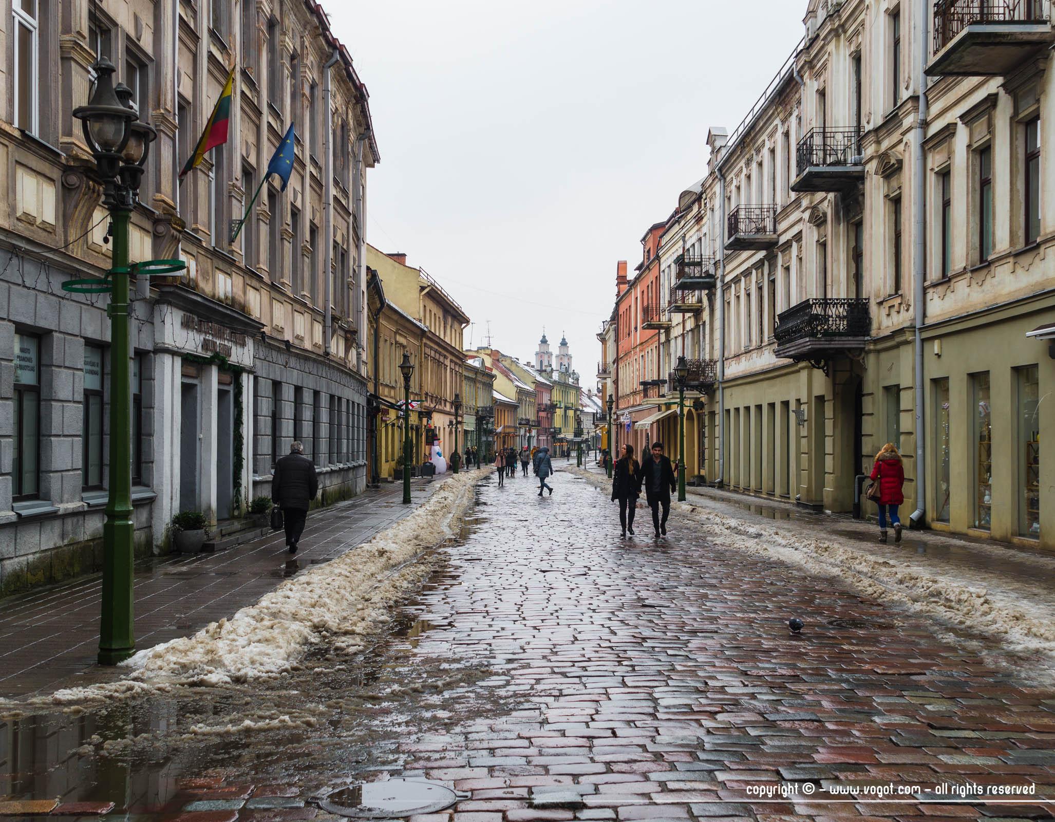 Voyage en Lituanie – une journée à Kaunas