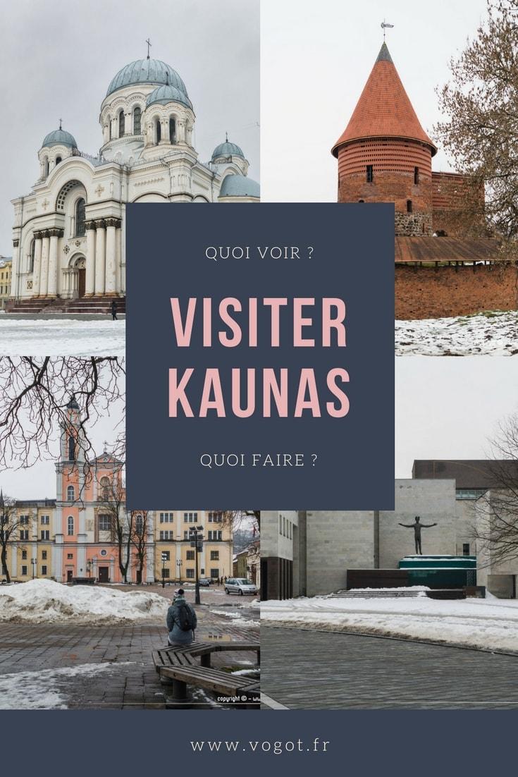 En voyage en Lituanie ? Vous prévoyez de passer une journée à Kaunas ? Découvrez notre guide pour savoir quoi faire et quoi voir sur place !