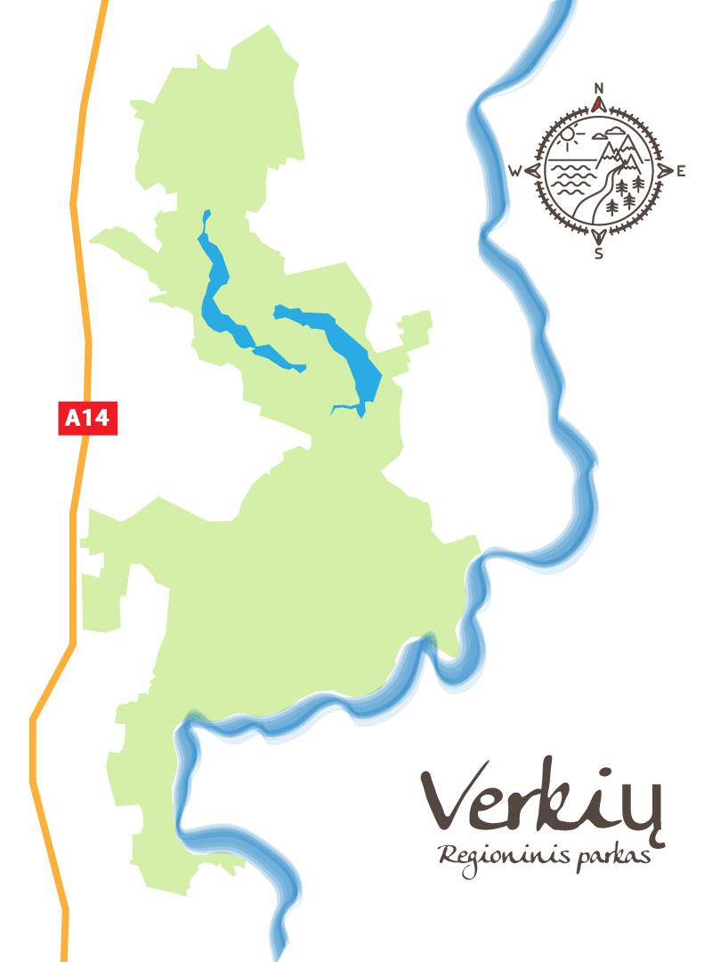 voyage en Lituanie - carte