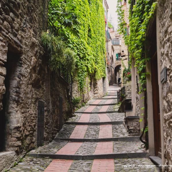 dolceacqua - ruelle en escalier